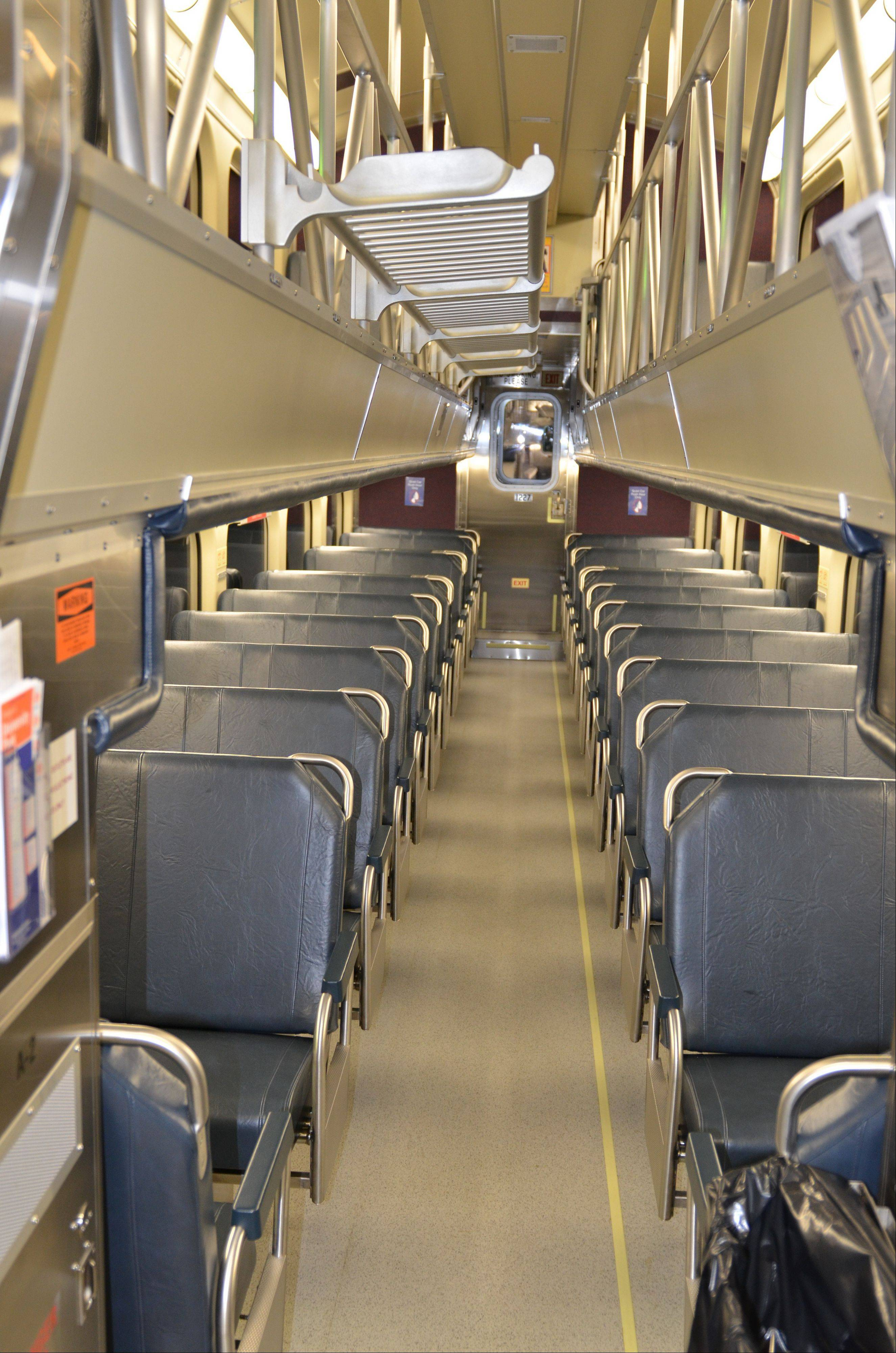 Metra�s new Highliner cars are built at a newly built Nippon Sharyo factory in Rochelle.