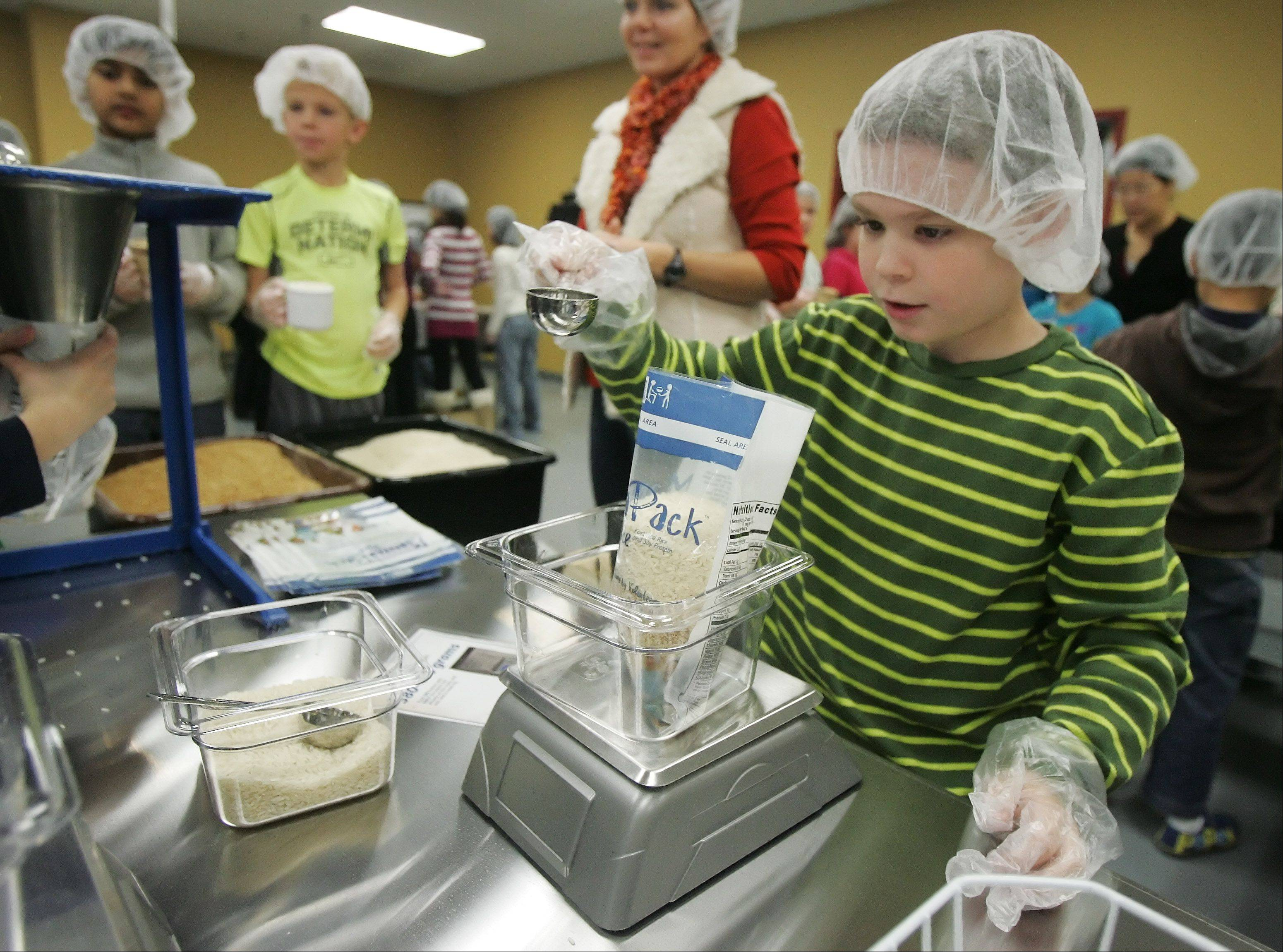 Feed My Starving Children opens center in Libertyville
