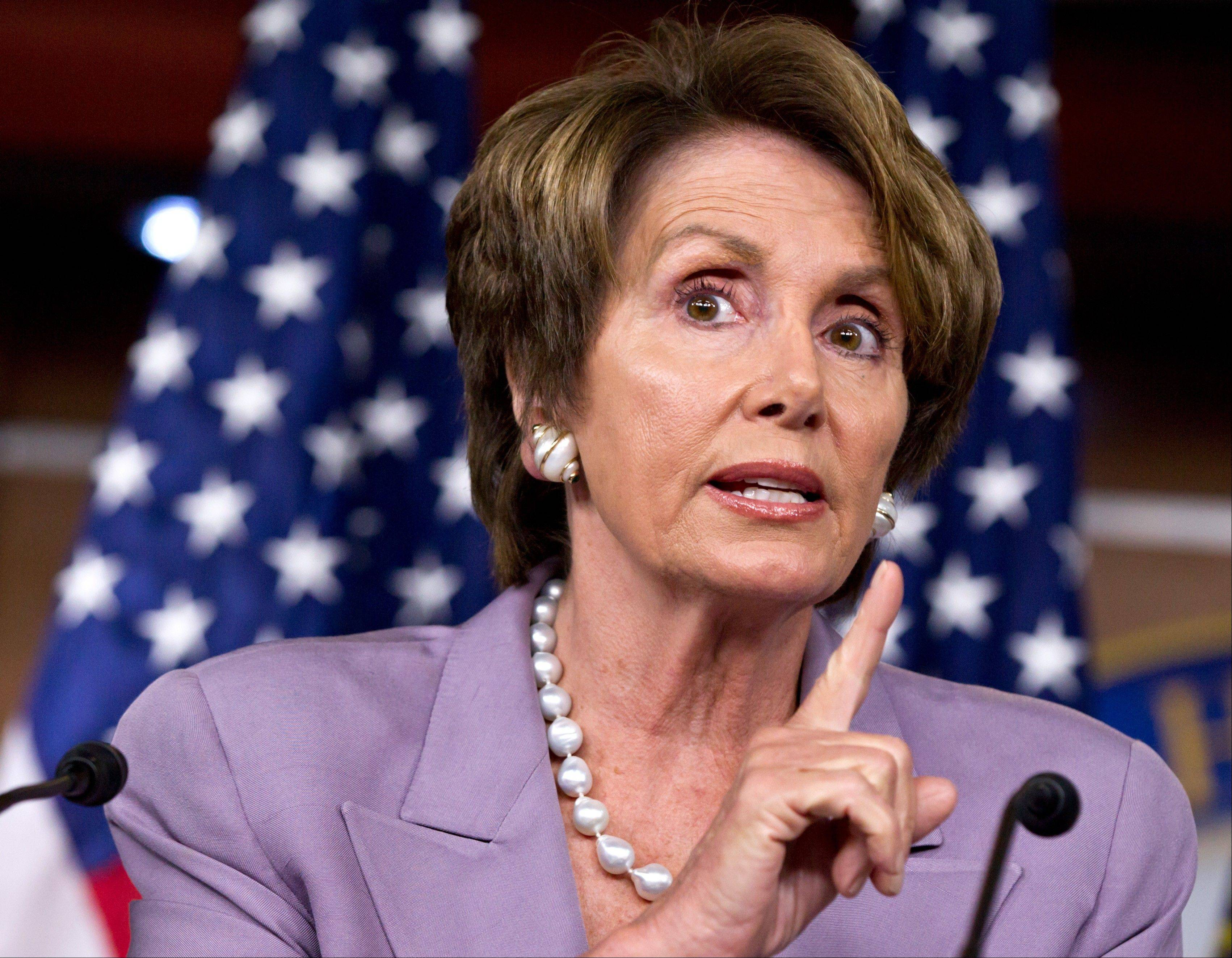 Former House speaker Nancy Pelosi said Wednesday she will run to keep her job as the Democratic leader in the House.