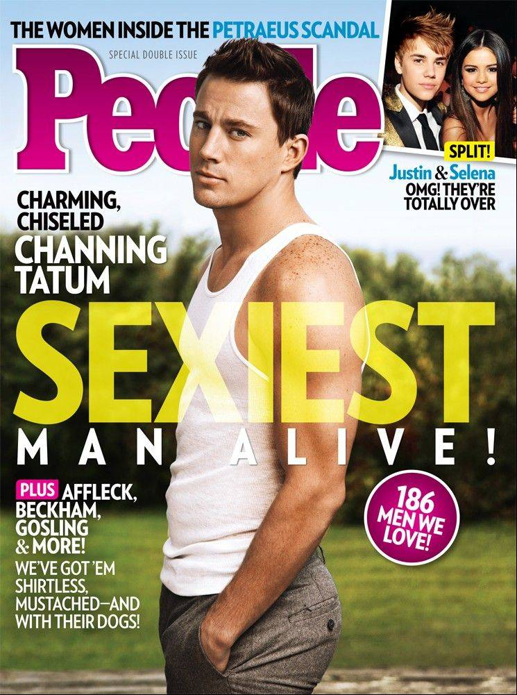 Channing Tatum is People's Sexiest Man Alive for 2012.