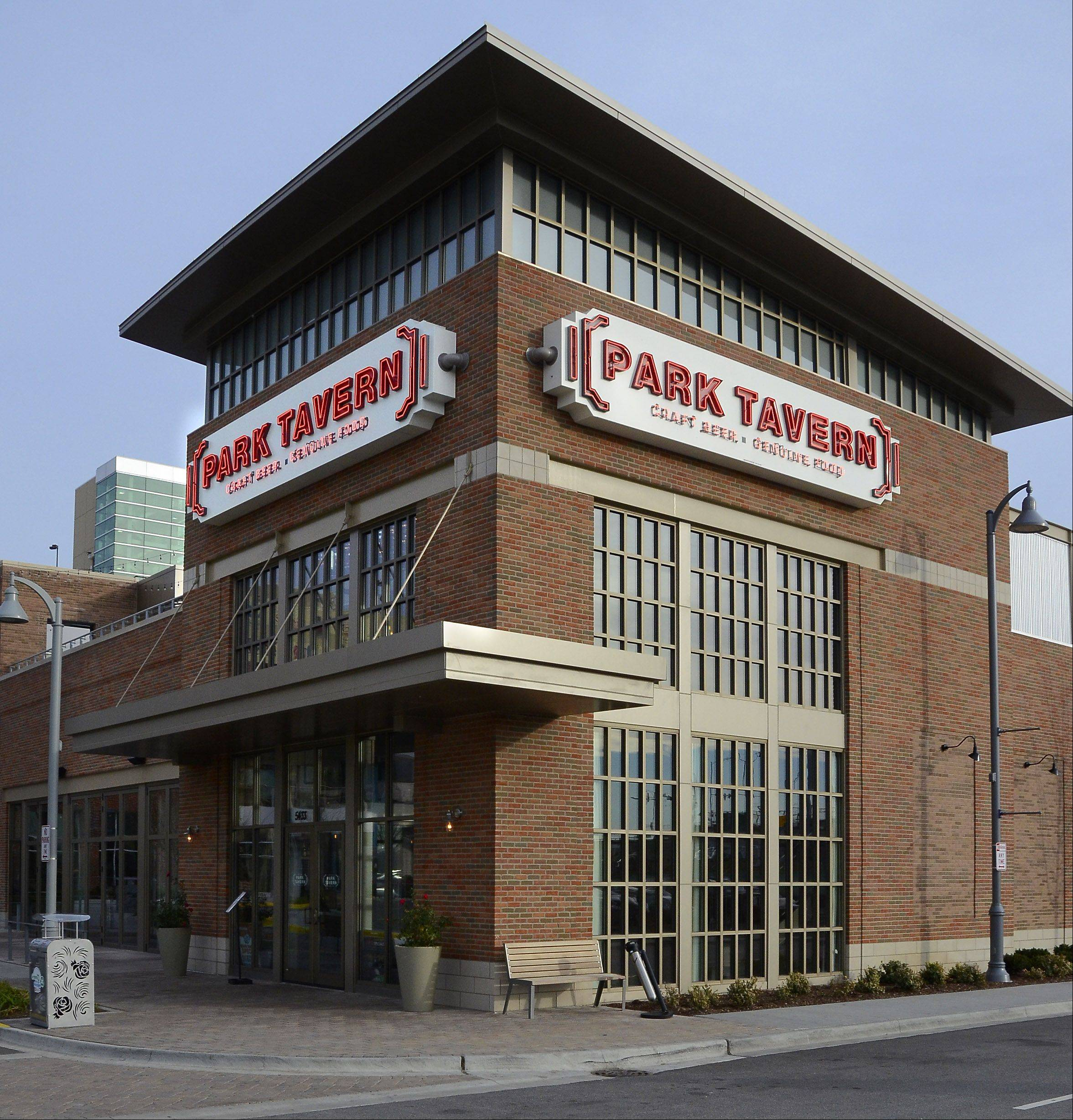 The Park Tavern is one of several restaurants in Rosemont's MB Financial Park entertainment district.