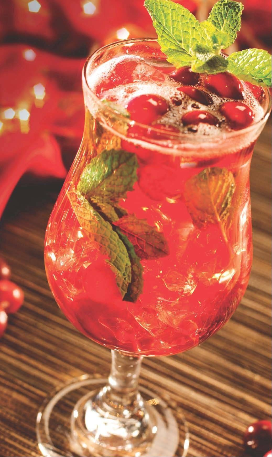 Benihana's spiced cranberry mojito is available throughout November.