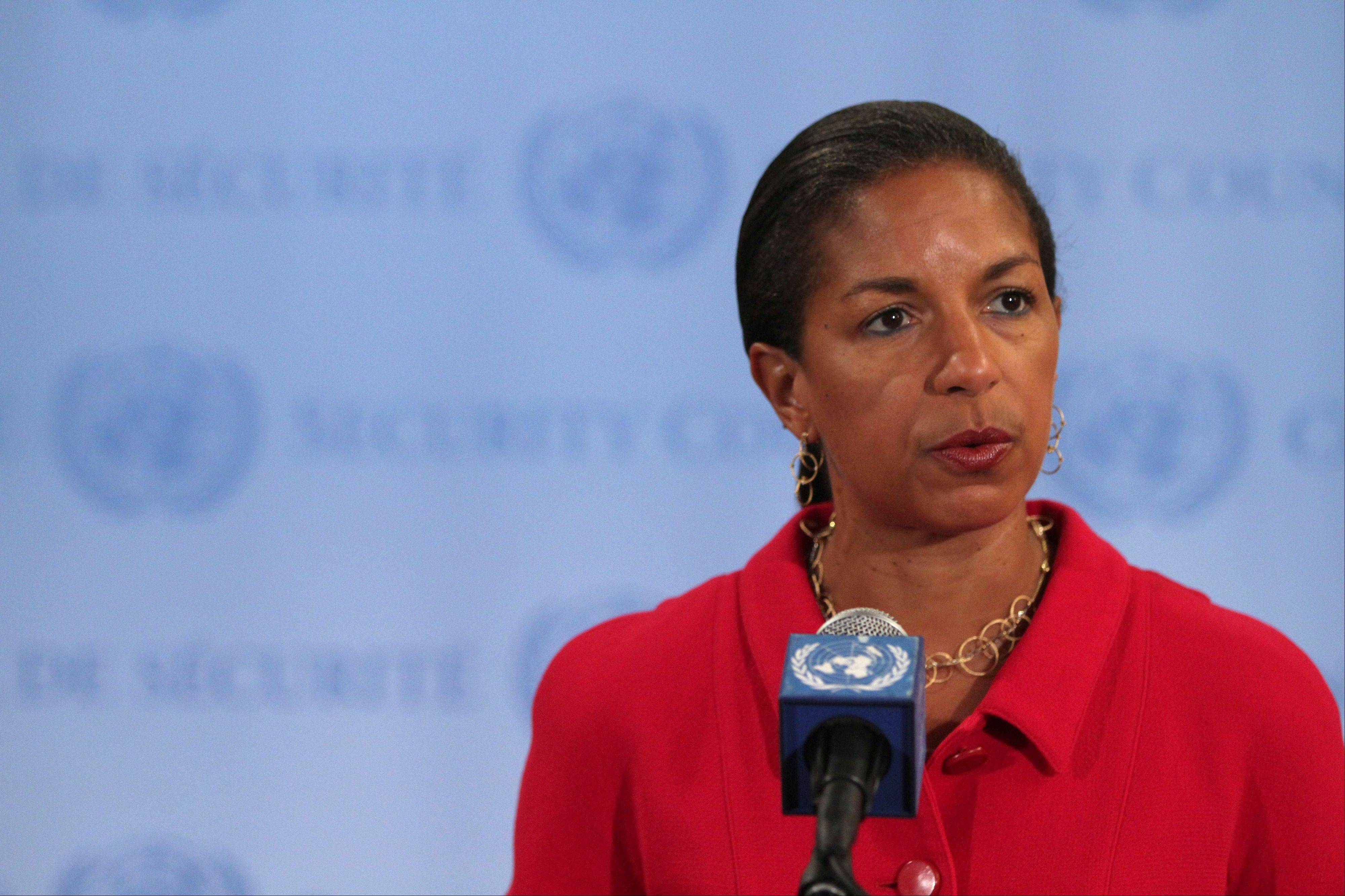U.S. Ambassador to the United Nations Susan Rice has been criticized by Republicans for maintaining the attack on the U.S. embassy in Benghazi, Libya, was the result of a spontaneous demonstration beyond a point others in Washington already suspected the attack to have been carried out by terrorists.