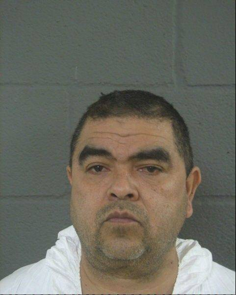 Heriberto Ramirez is accused of stabbing his wife 34 times in their home near Des Plaines.