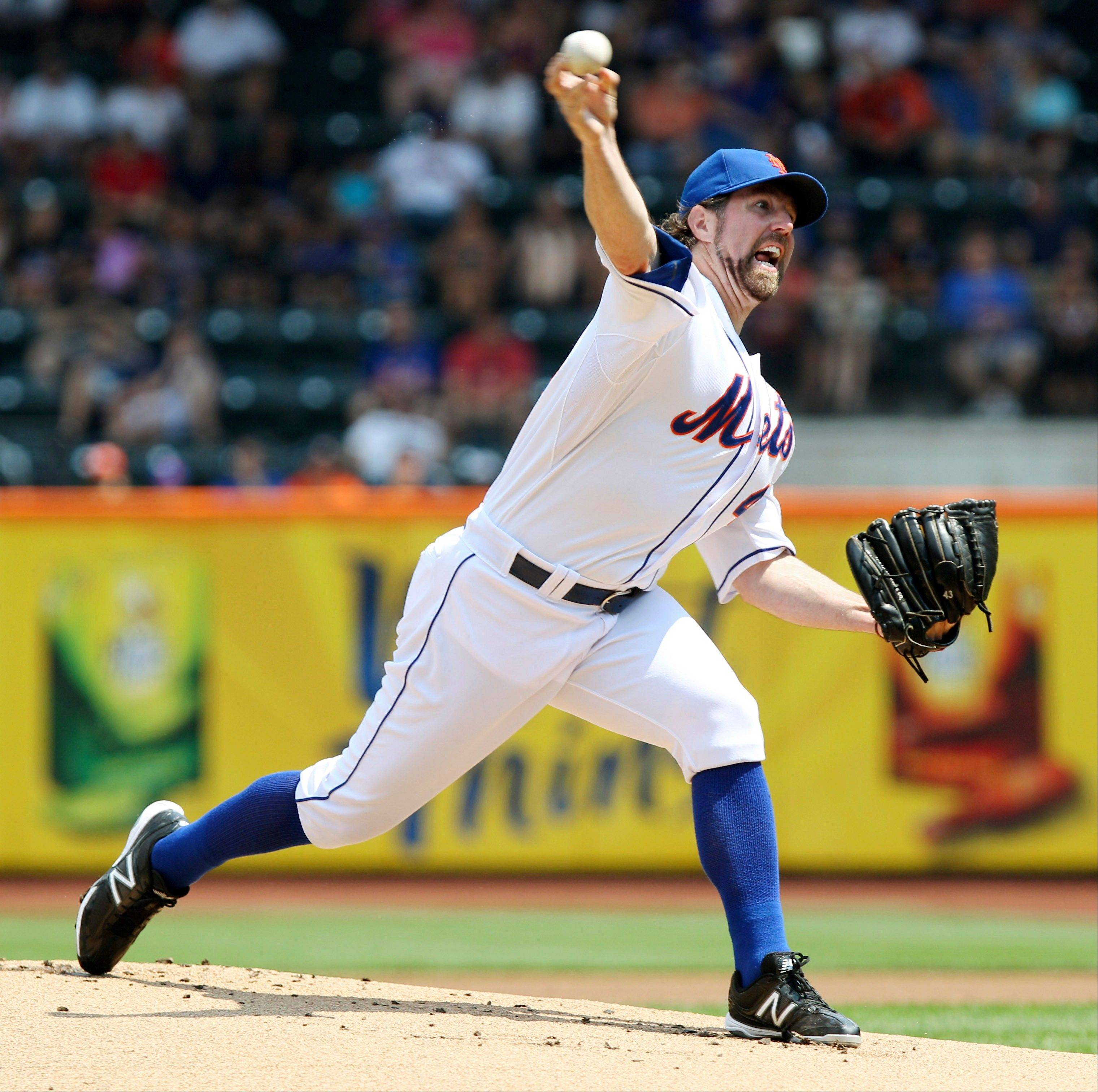 New York Mets pitcher R.A. Dickey became the first pitcher who relied predominantly on a knuckleball to win the Cy Young Award, an achievement mentors such as Hall of Famer Phil Niekro are quite proud of.