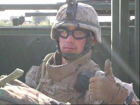 Sgt. Daniel Tsutsumi of Arlington Heights served in the Marine Corps.