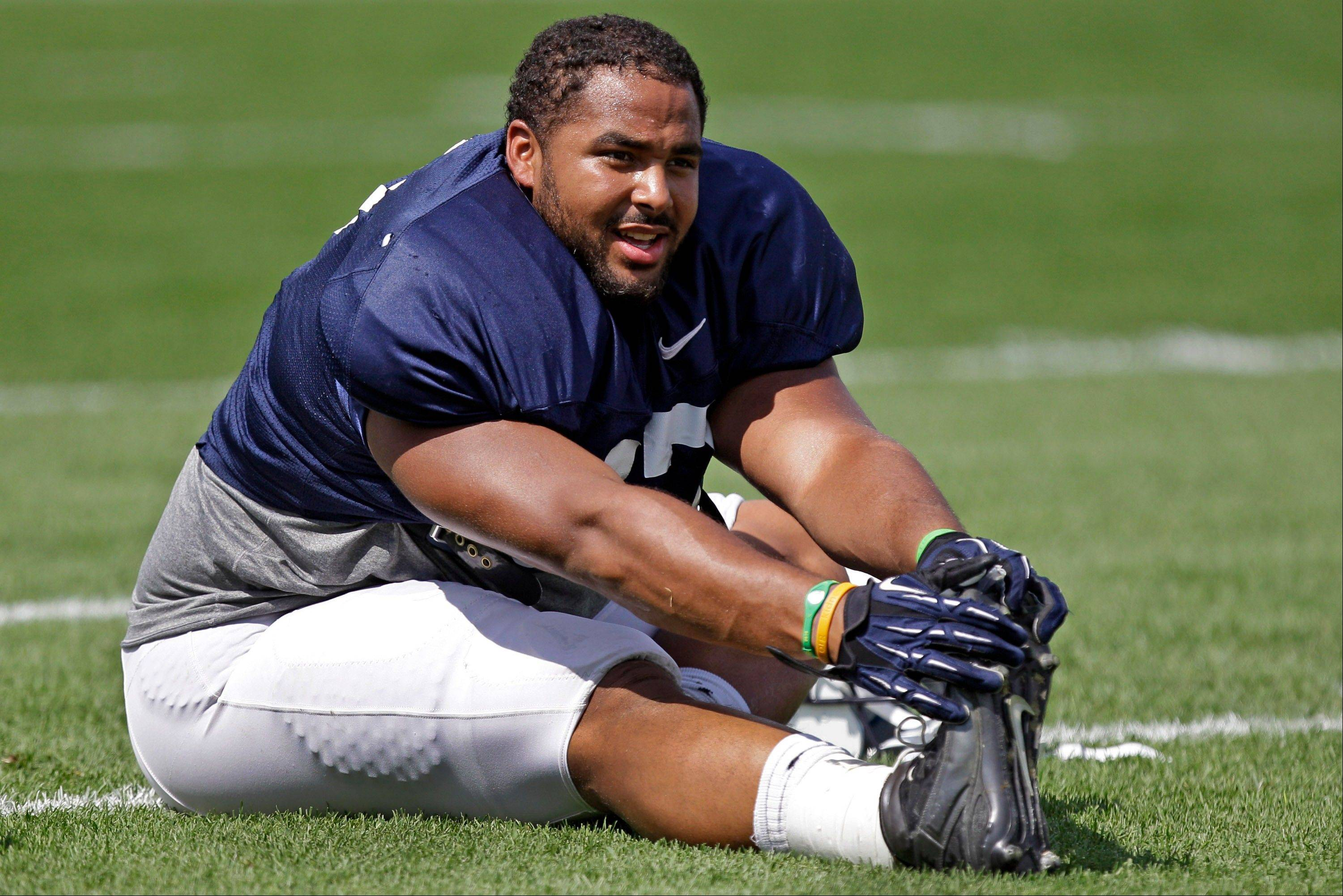 Quiet and laid back, Penn State defensive tackle Jordan Hill flashes an easygoing smile. The friendly personality makes it hard to dislike the Penn State defensive tackle — unless, of course, you're an opposing offensive lineman constantly getting steamrollered by him on the field.