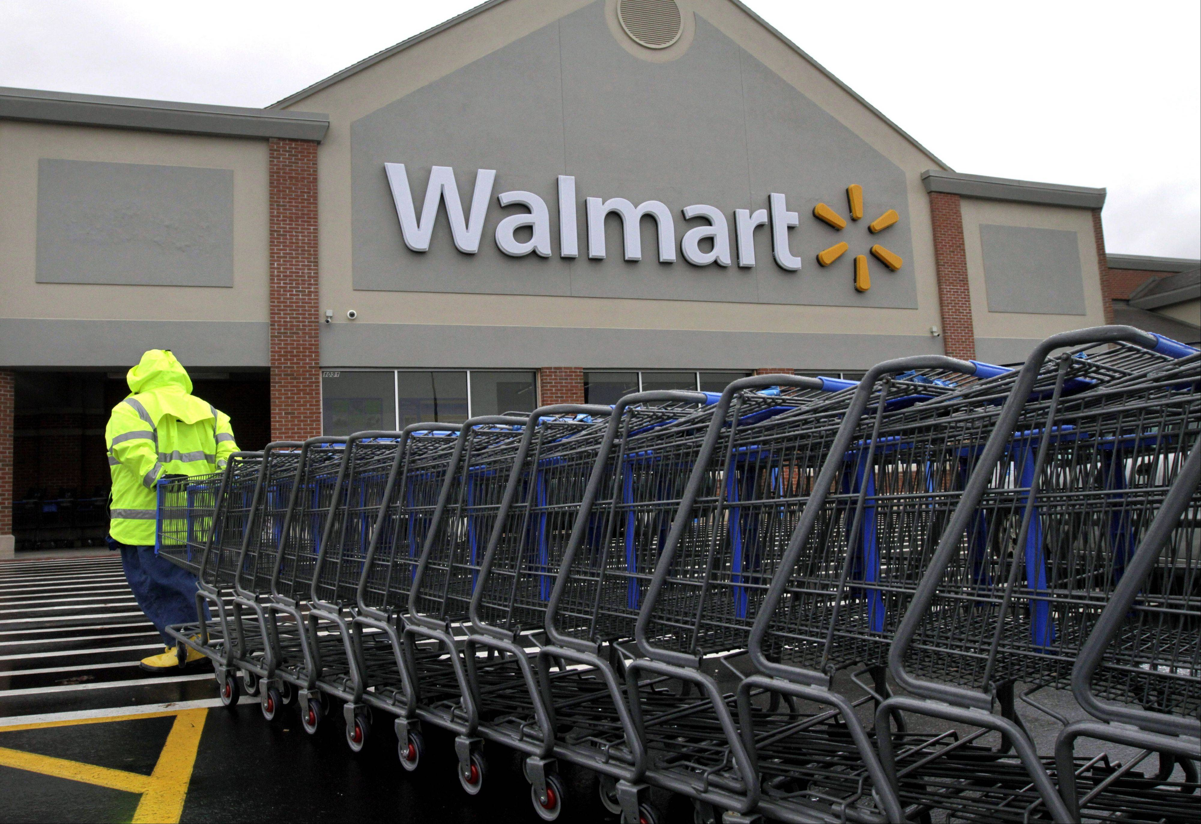 Wal-Mart Stores Inc. reported a 9 percent increase in net income for the third quarter, but revenue for the world's largest retailer fell below Wall Street forecasts as its low-income shoppers continue to grapple with an uncertain economy.