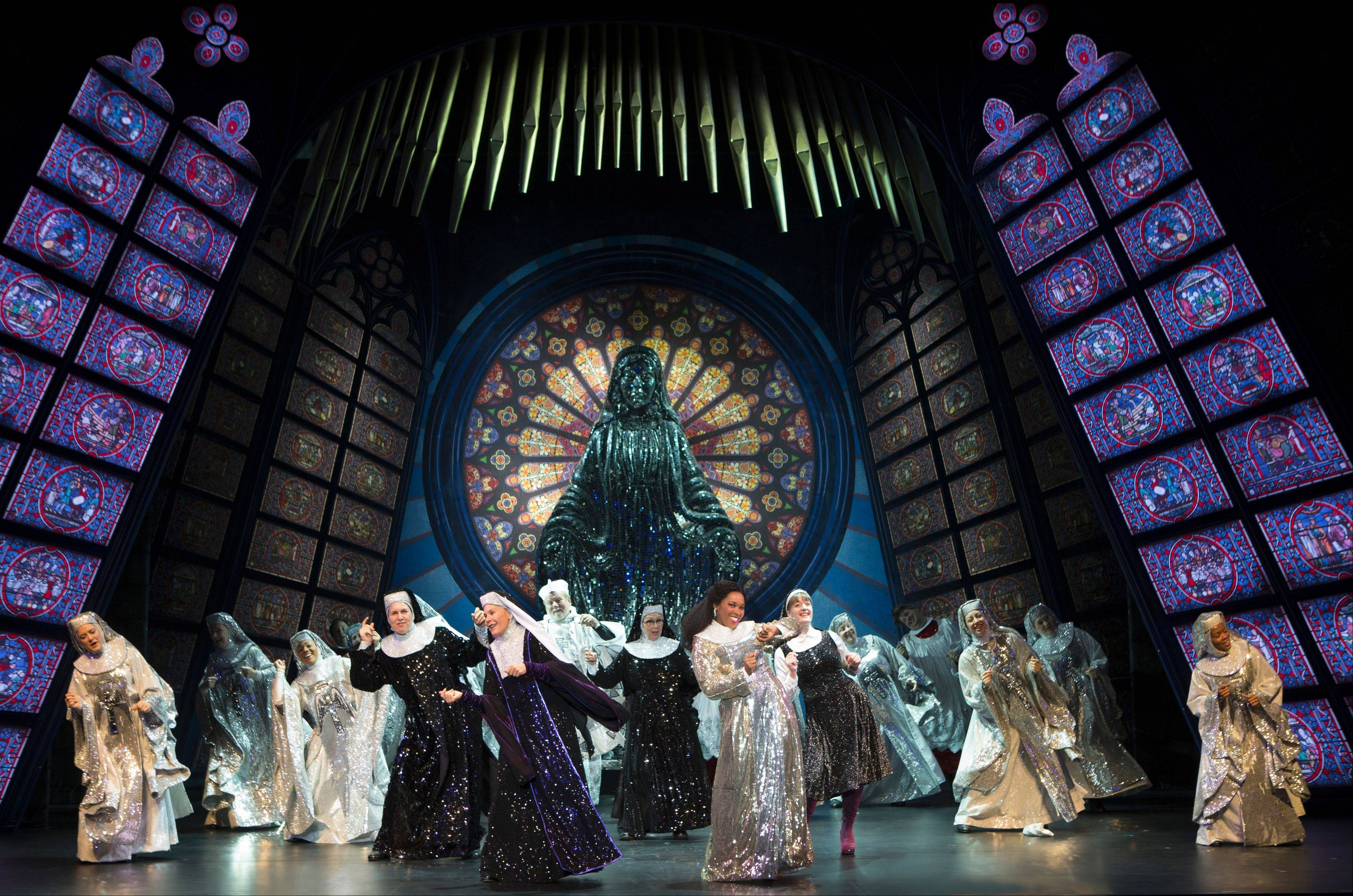 "The 2011 Broadway musical ""Sister Act"" features a score by Alan Menken. The national tour plays the Auditorium Theatre of Roosevelt University in Chicago through Sunday, Dec. 2."