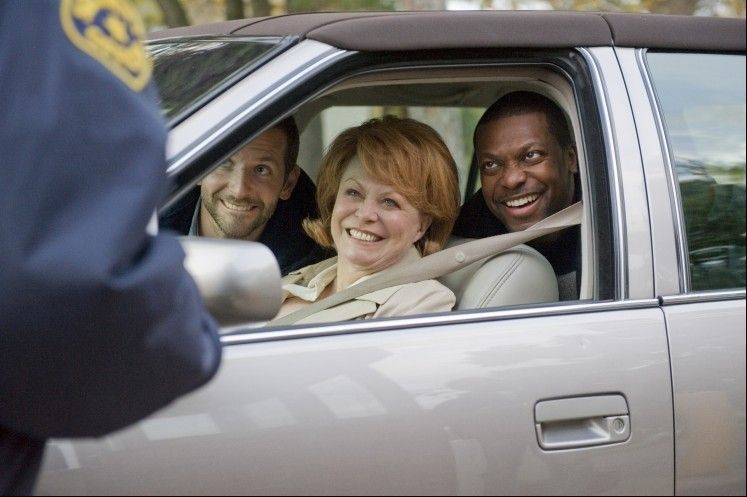 "Former stand-up comedian Chris Tucker, right, stars in ""Silver Linings Playbook"" with Bradley Cooper and Jacki Weaver."