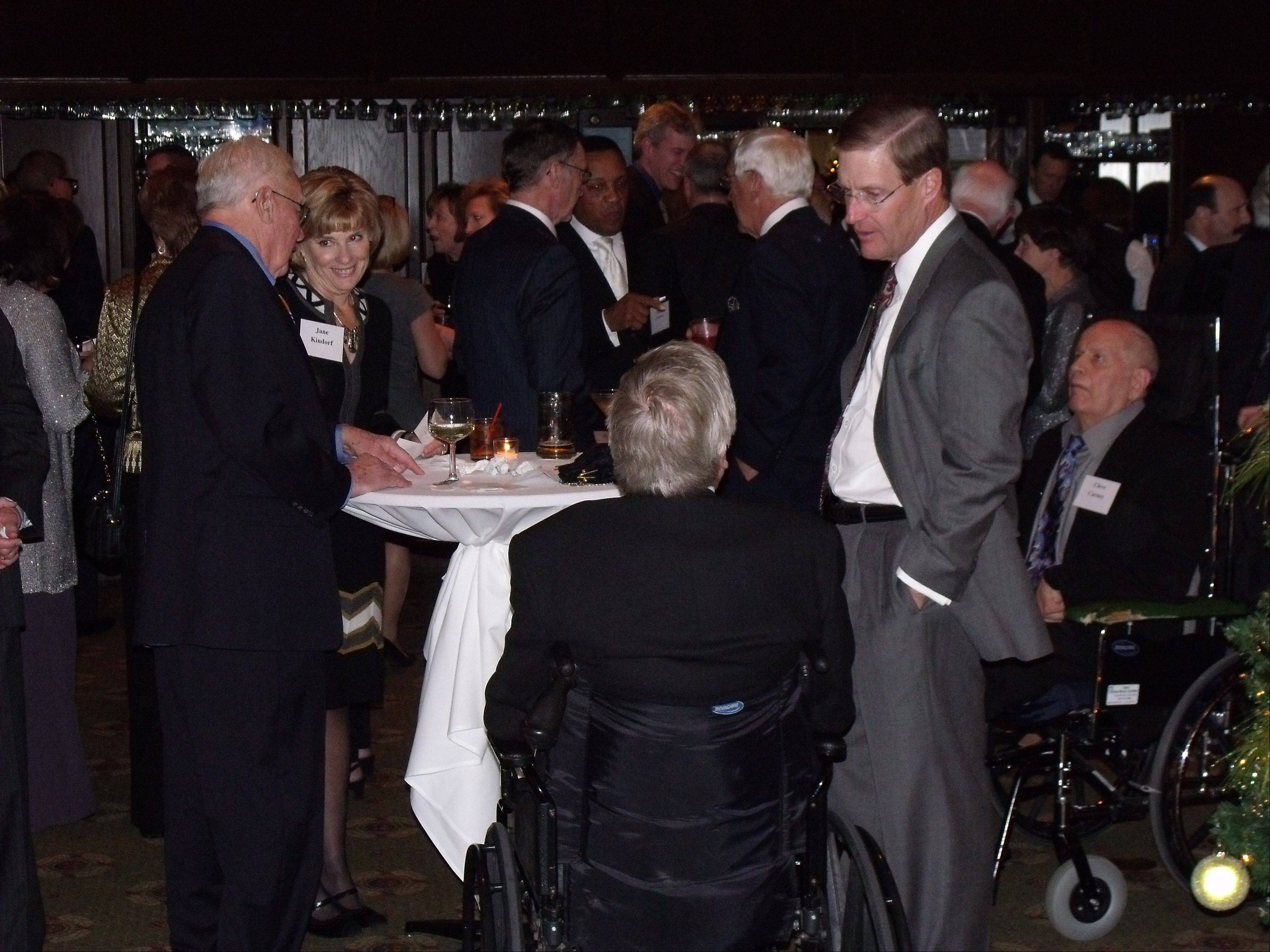 The DuPage Community Foundation's 20th annual Benefit Dinner raises money to support grants to the county's nonprofit groups.