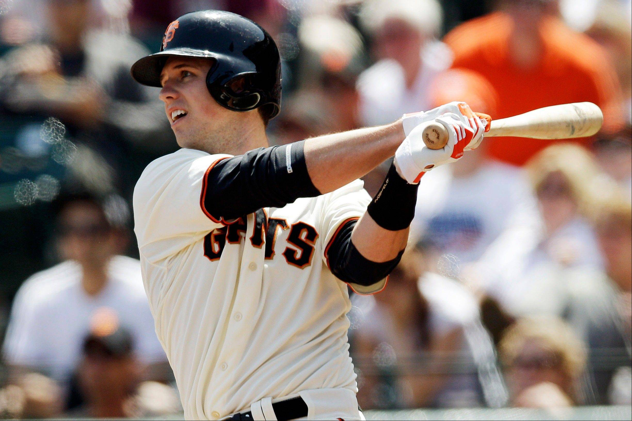 San Francisco Giants catcher Buster Posey has been voted the NL Most Valuable Player after returning from a devastating leg injury and becoming the first catcher in 70 years to win the league's batting title.