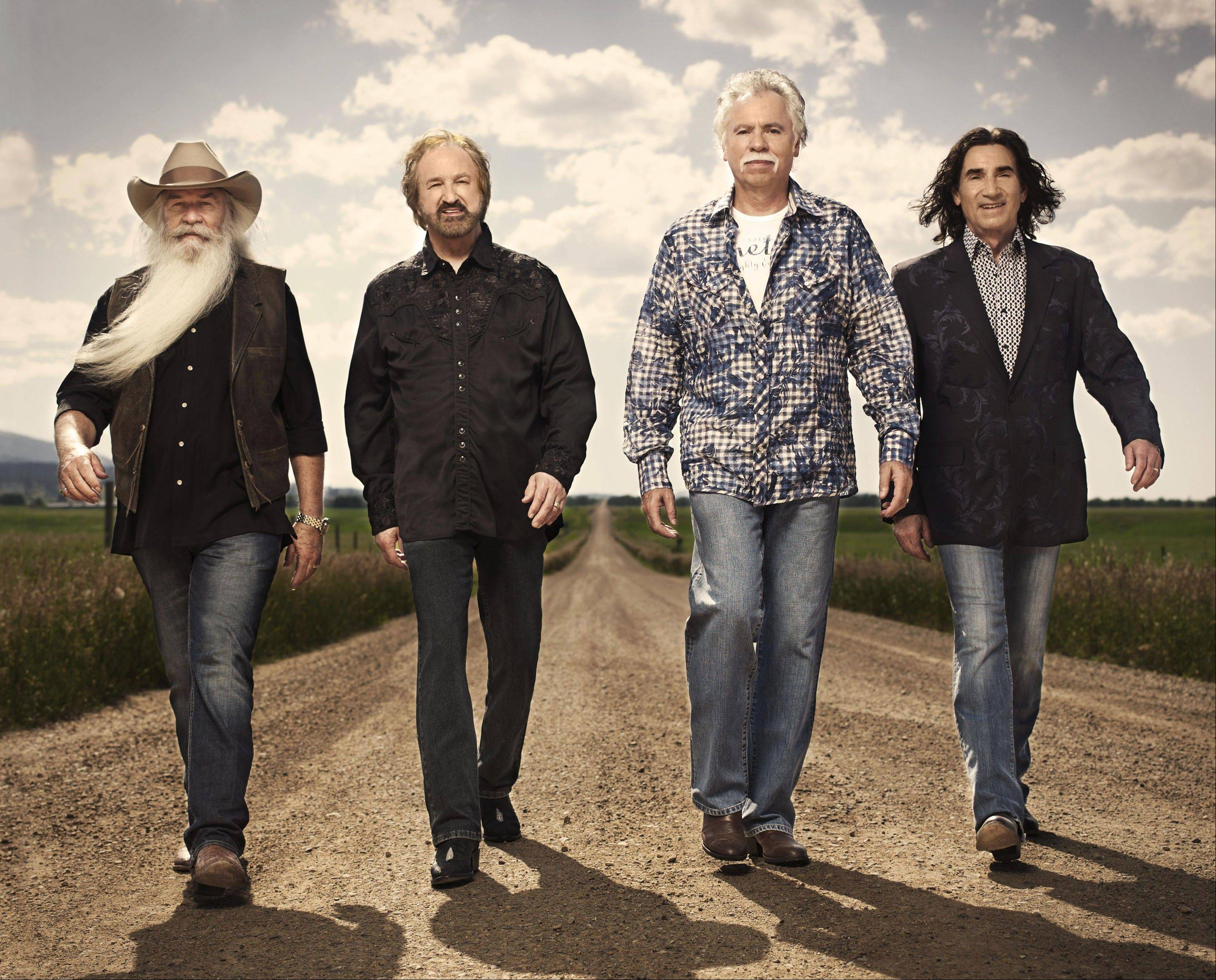 "The Oak Ridge Boys — William Lee Golden, Duane Allen, Joe Bonsall and Richard Sterban — will perform everything from ""Elvira"" to ""White Christmas"" during their Dec. 21 holiday concert at Naperville's North Central College."