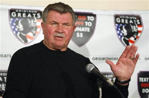 Former Chicago Bears coach Mike Ditka will participate in a fundraiser money to raise money for Child's Voice in Wood Dale.