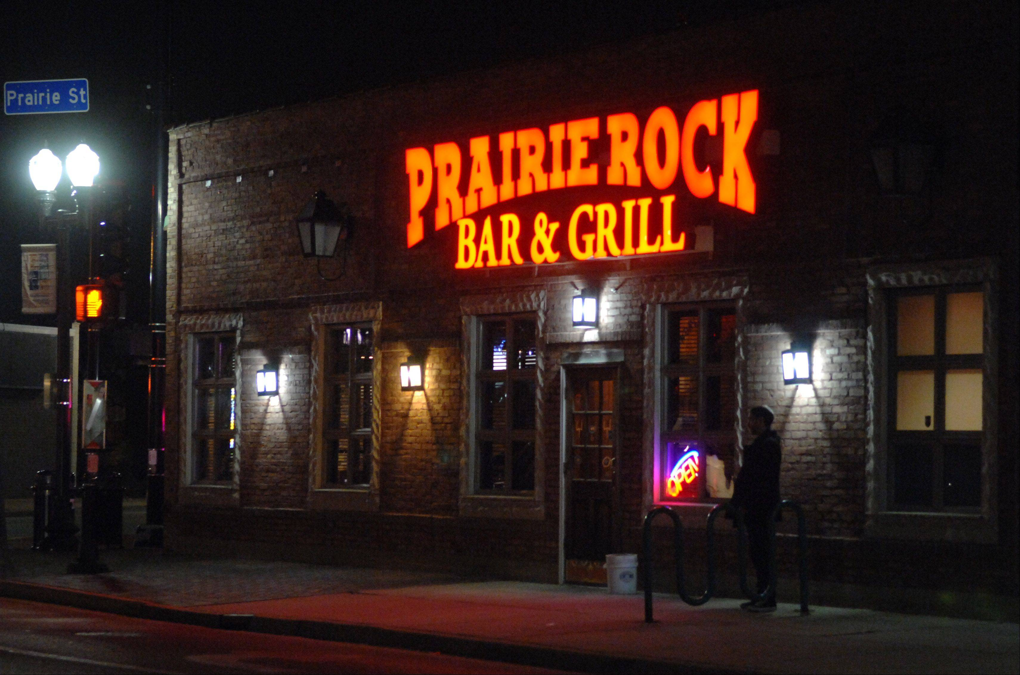 Prairie Rock Bar & Grill in Elgin reopened in March with new owners.