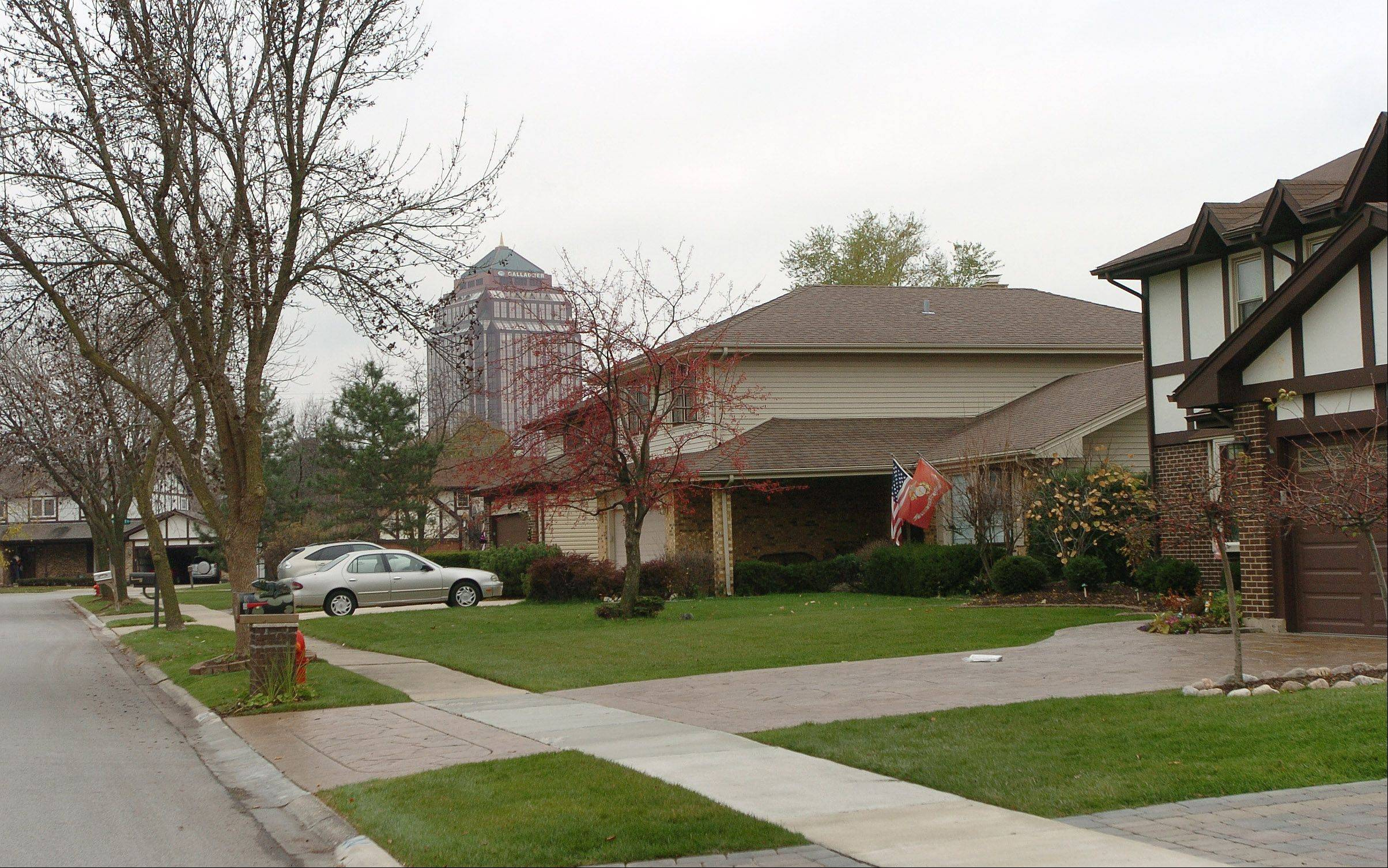 Residents of Circle Bay Estates are within walking distance of much Elk Grove Village has to offer.
