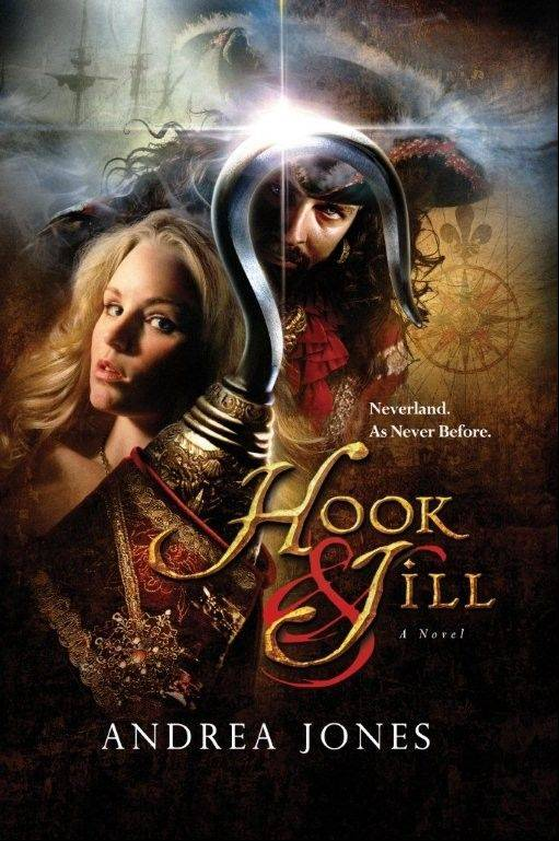 """Hook & Jill"" is a startling version of J.M. Barrie's classic ""Peter & Wendy"" that offers a totally new picture of Neverland. It's an original novel by Andrea Jones of Aurora who will read from and sign copies of her books at Christmas on the Fox."