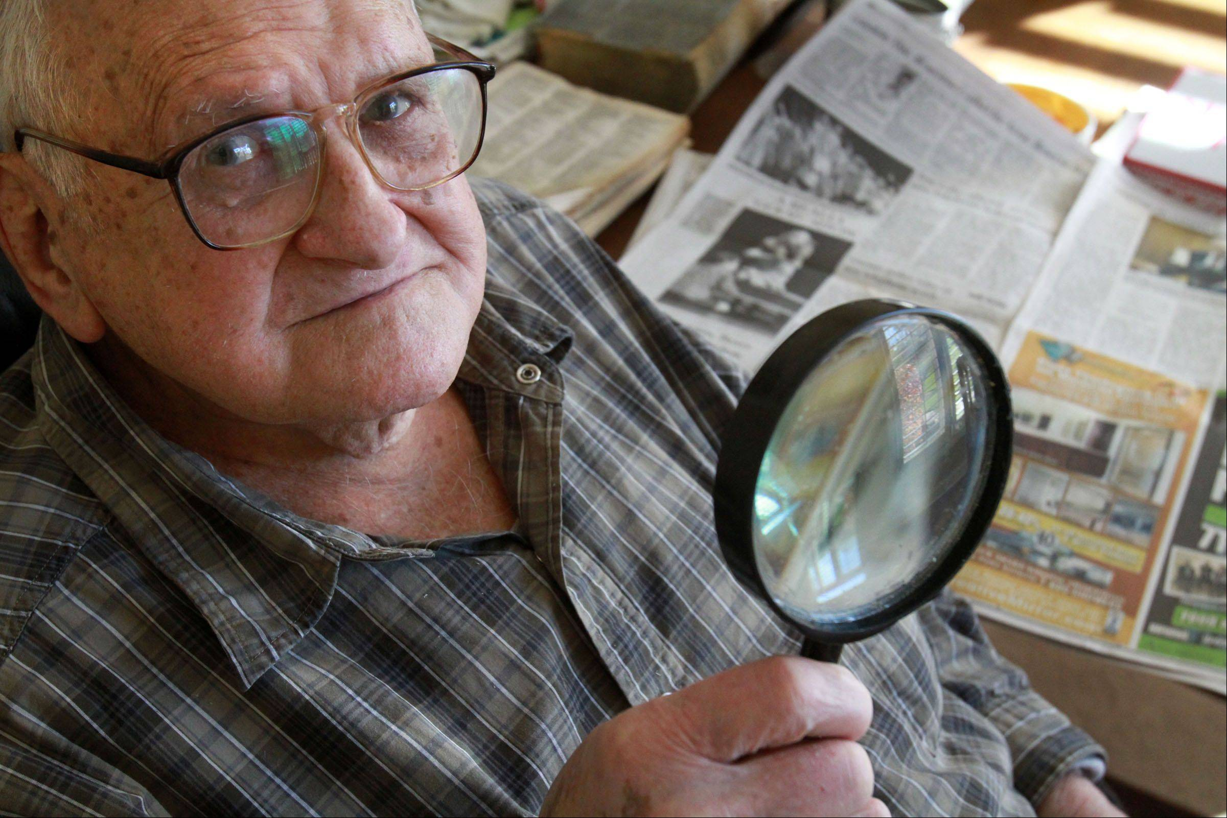 Romanian immigrant Steve Auer ignored his atrial fibrillation on Election Day until after he voted. The 93-year-old Lake Zurich man keeps a close eye on politics by reading three daily newspapers.