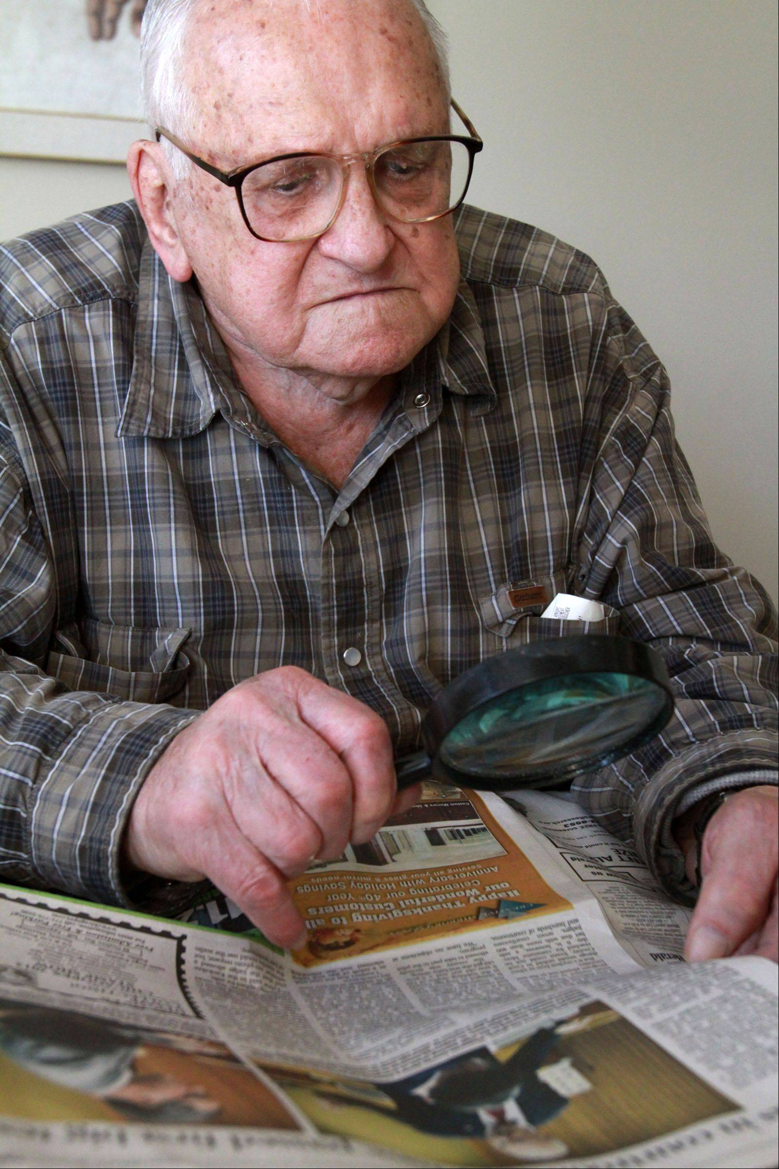 Romanian immigrant Steve Auer ignored his heart's atrial fibrillation on Election Day until after he voted. The 93-year-old Lake Zurich man keeps a close eye on politics by reading three daily newspapers.