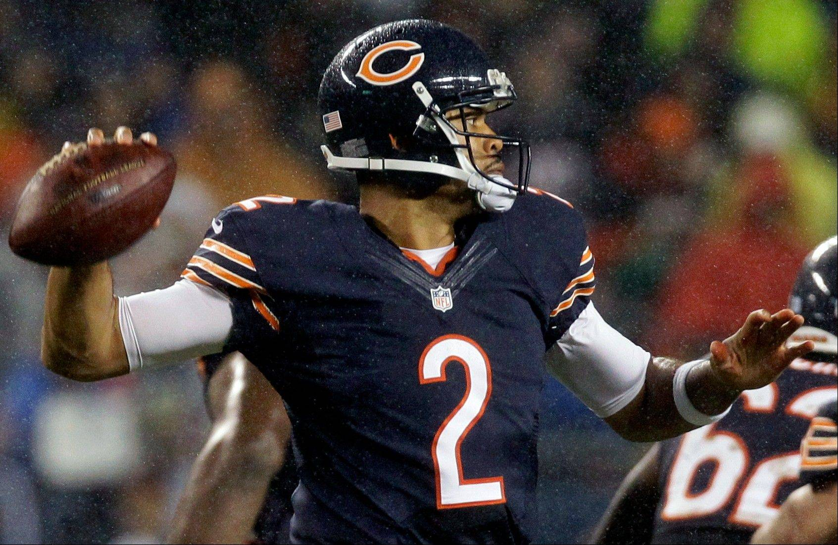 Against the 49ers on Monday night, quarterback Jason Campbell might want to show a little bit more of why the Bears were so happy to bring him in last off-season as Jay Cutler's backup.
