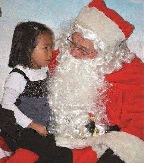 KIds will have a chance to visit with Santa Claus during Holly Days in Egg Harbor, Wis.