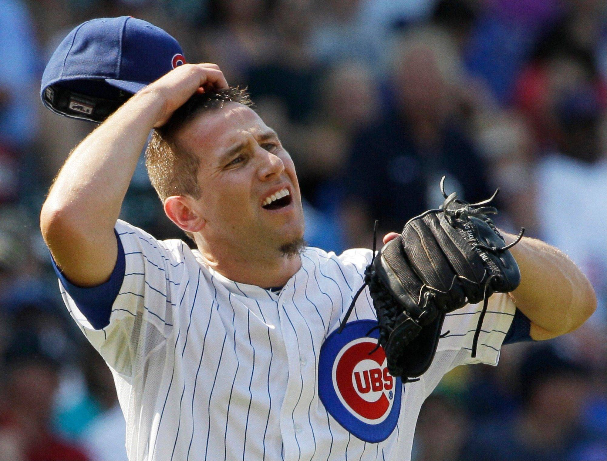 Cubs relief pitcher Shawn Camp carried a big load for the Cubs last season, appearing in 80 games. Opponents batted only .261 against him and he had a WHIP of 1.29. The Cubs re-signed Camp to a new one-year deal on Monday.