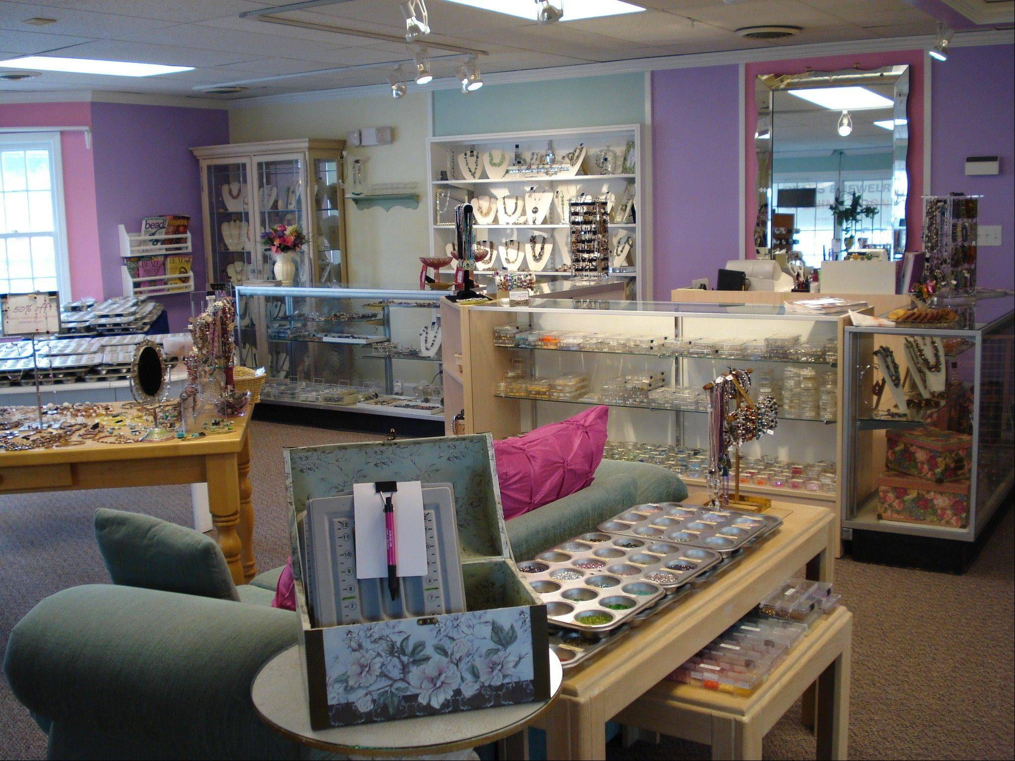 Facets if Isis in Palatine offers an array of beads and classes in Palatine. Owner Vilma Lee-Heinzinger left her corporate job more than six years ago to start the business.