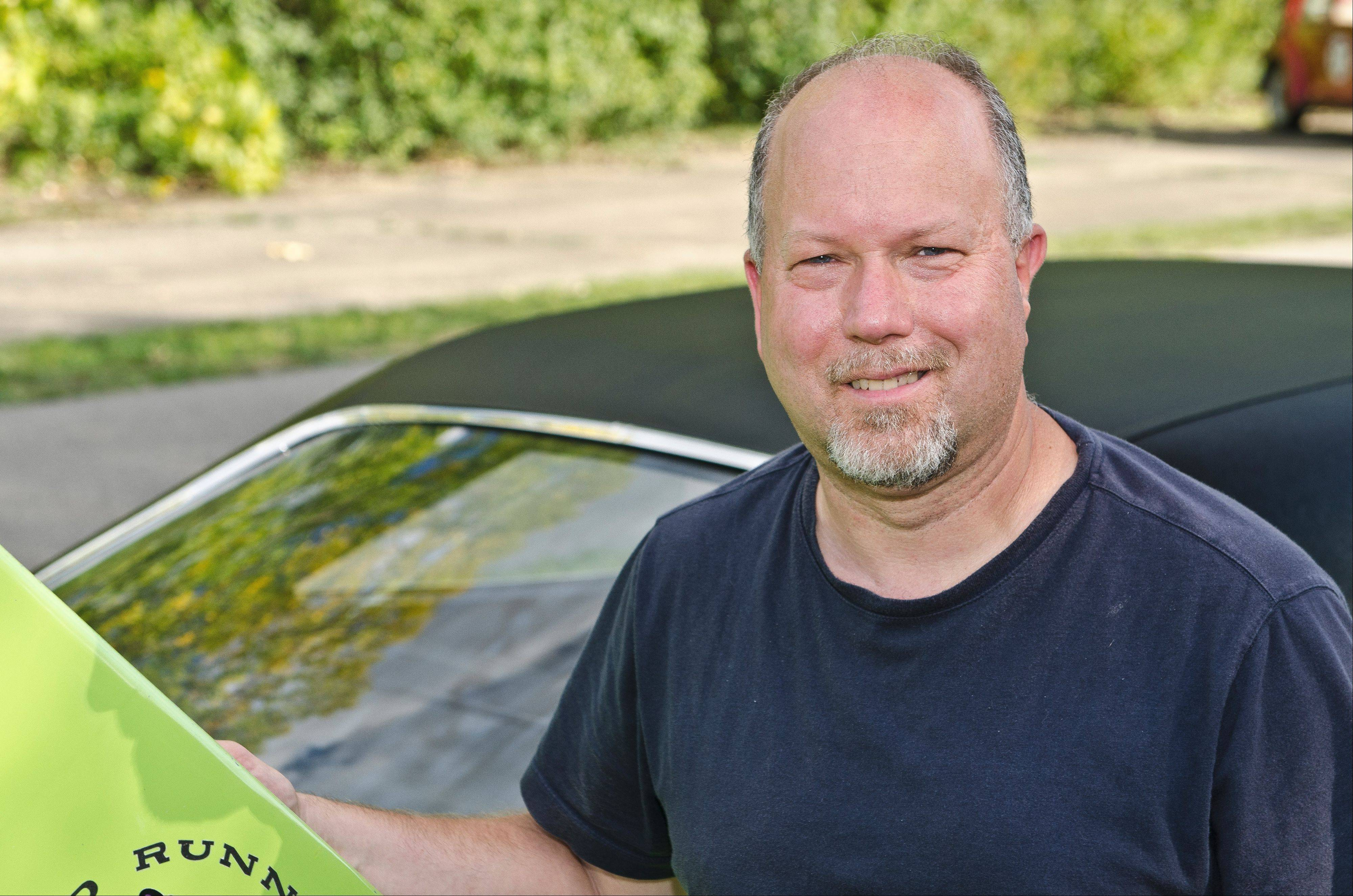 "Doug Schellinger now heads up a national car club for owners of Superbirds and several other similar ""aero warrior"" models."