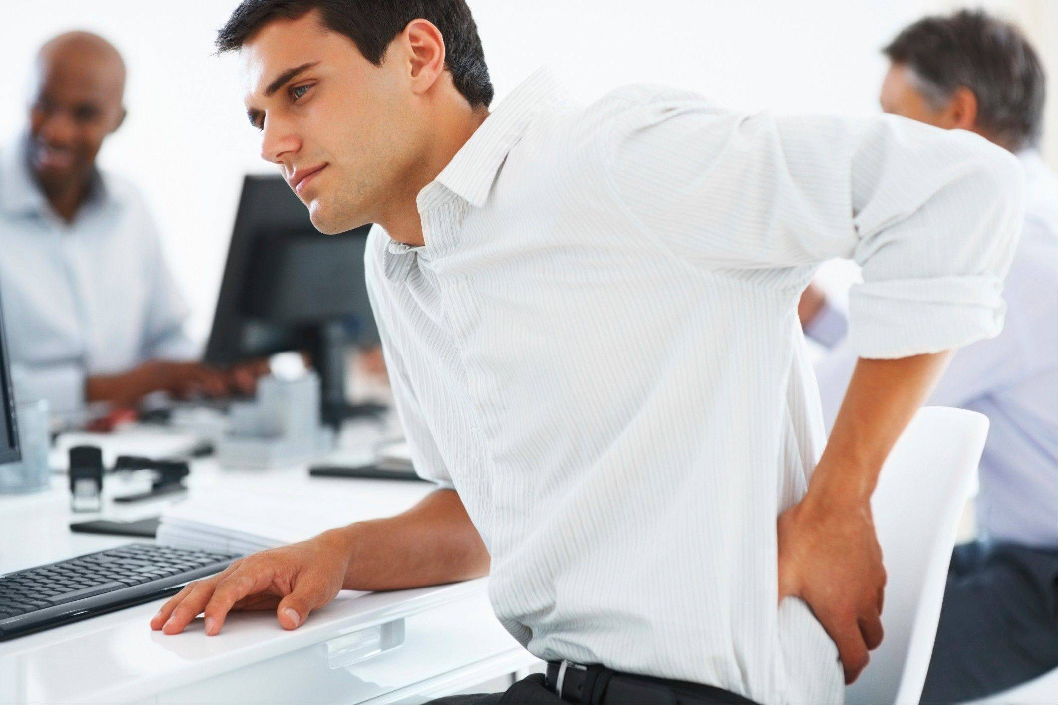 Sitting for long periods of time can hurt your back and impact your overall health.