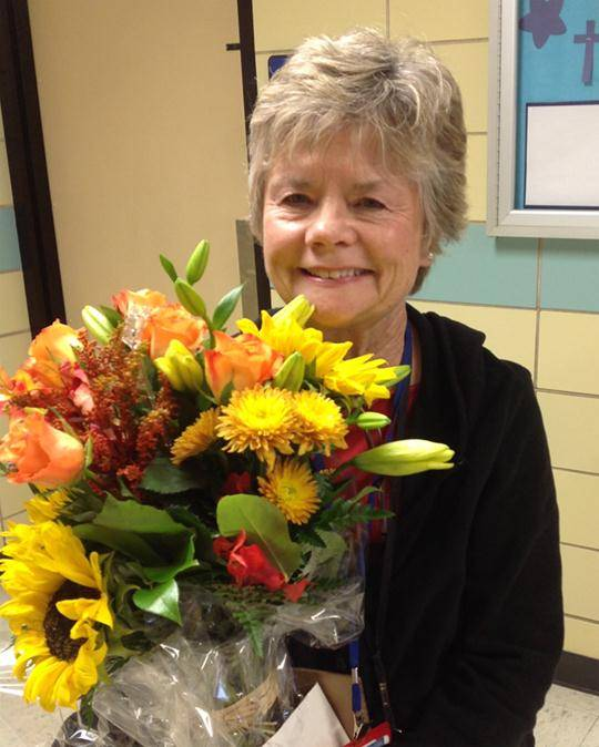 Mrs. Susan Snell, St. Mary BG preschool teacher and Heart of Buffalo Grove Award Recipient