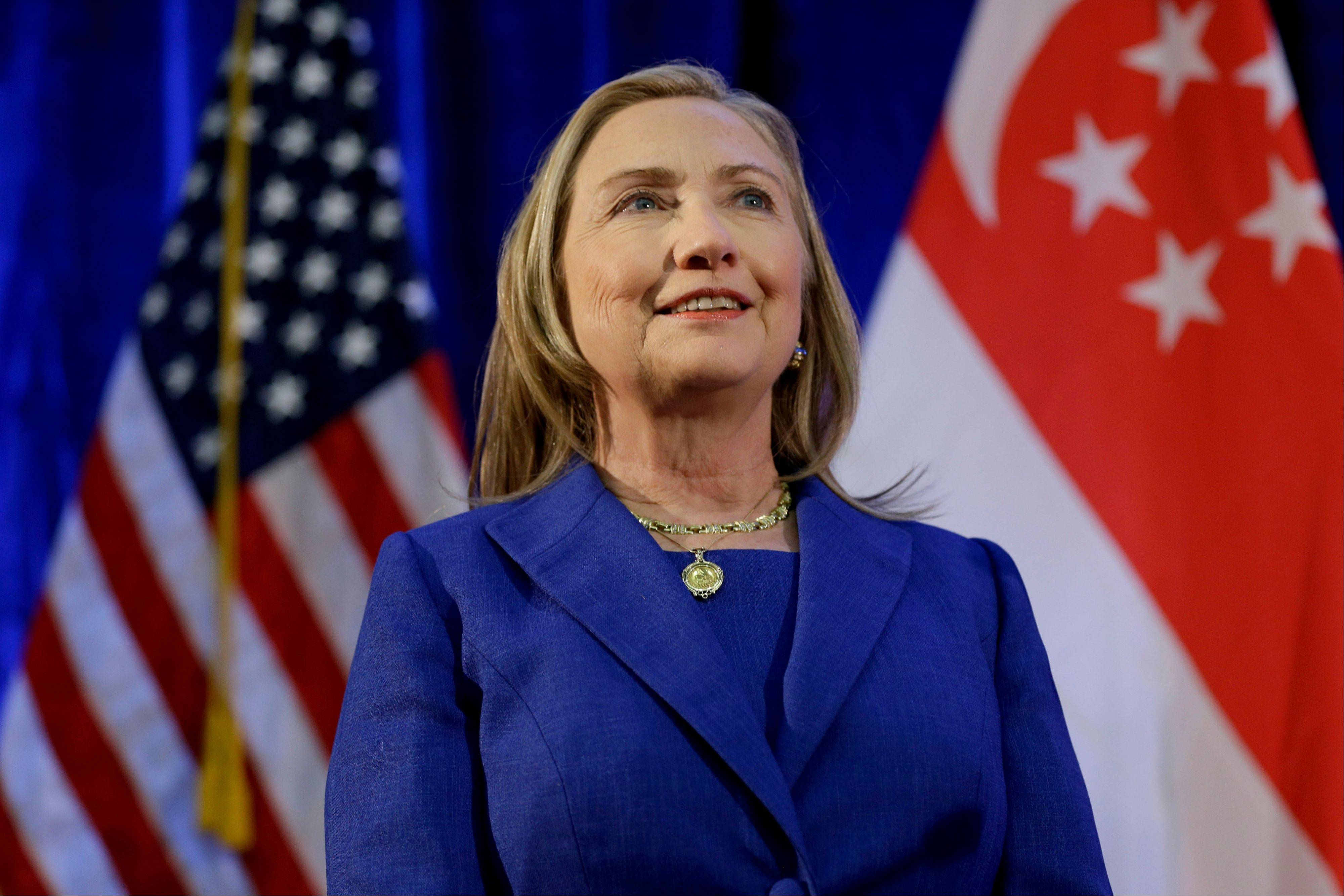 U.S. Secretary of State Hillary Rodham Clinton was dispatched to the Middle East Tuesday as the U.S. urgently seeks to contain the bloody conflict between Israel and Hamas.