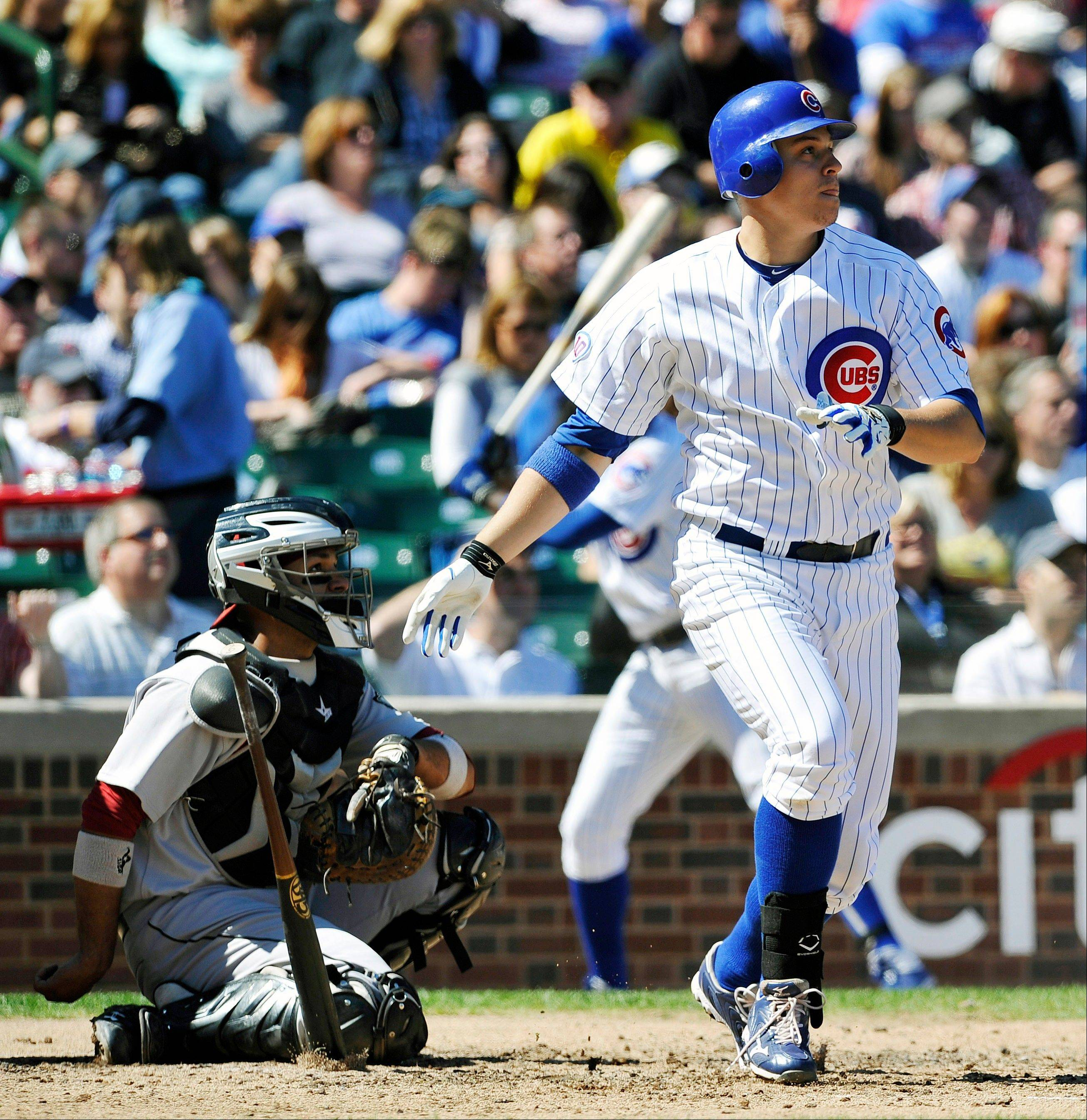 The Cubs have designated first baseman Bryan LaHair for assignment.