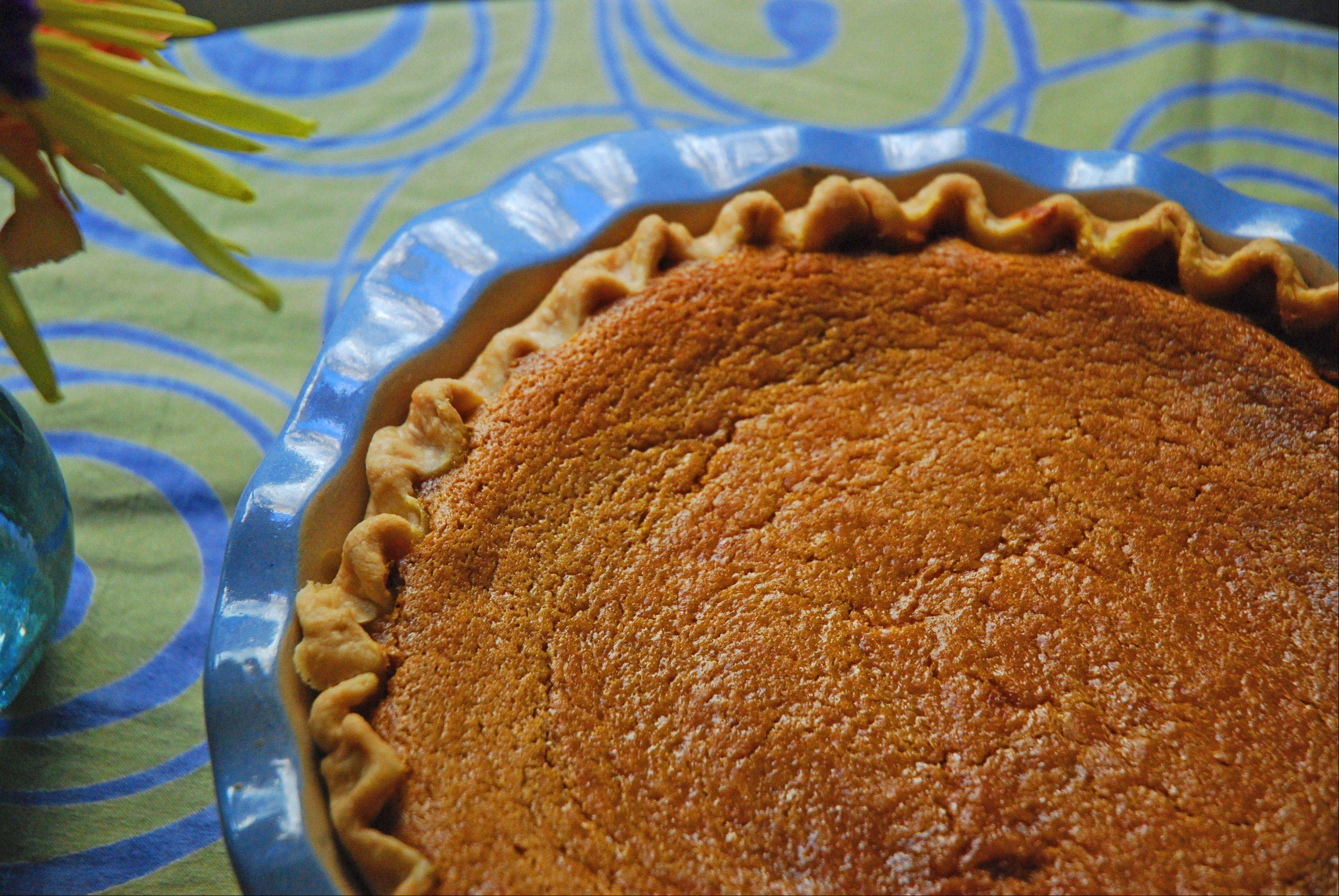 Tradition never tasted as good as when it's baked in a sweet potato pie.