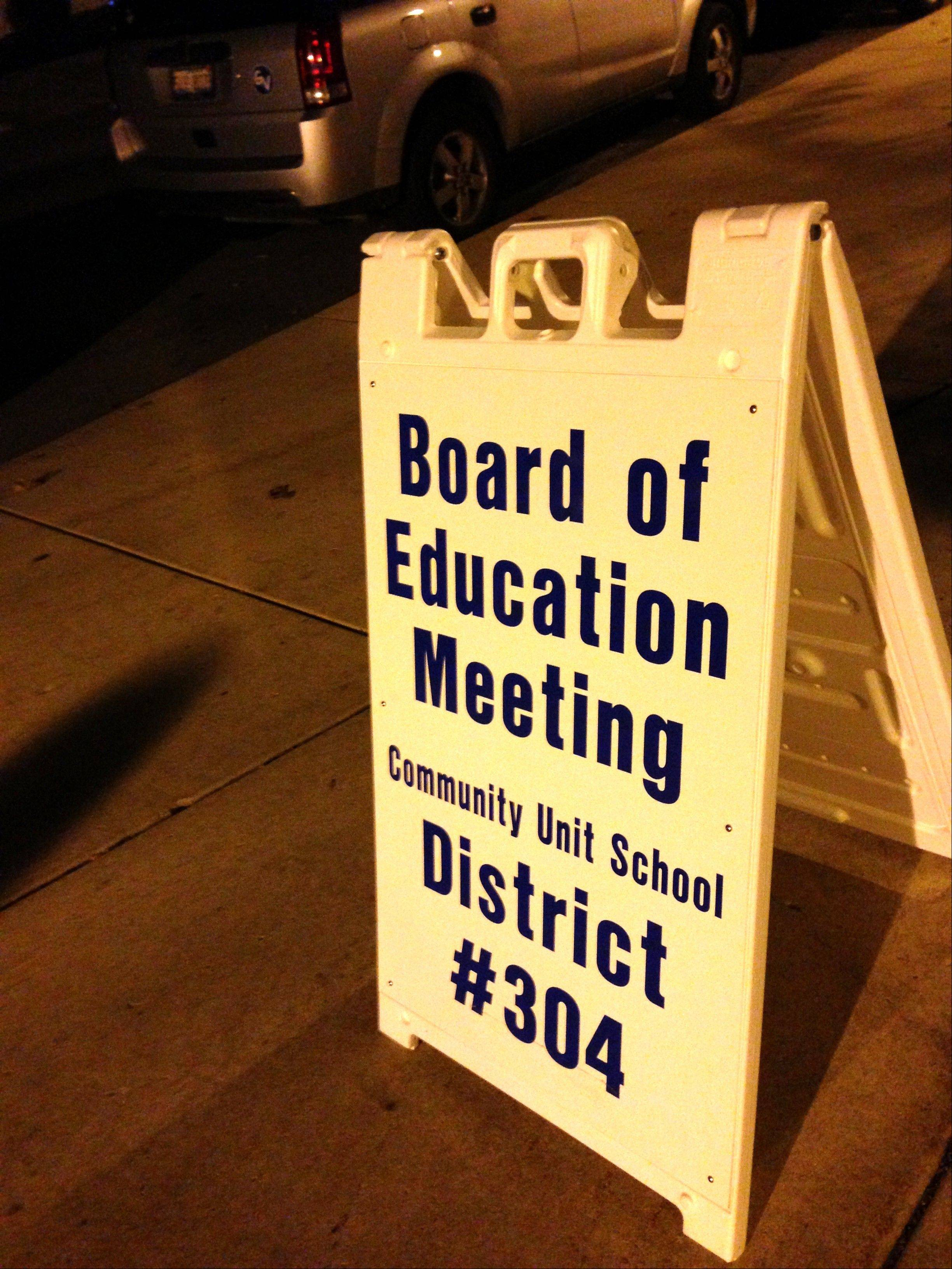The Geneva school board spent a mere 15 minutes in a closed-door meeting Tuesday night before ratifying a new three-year teacher contract. The teachers union ratified the contract among its members last week.