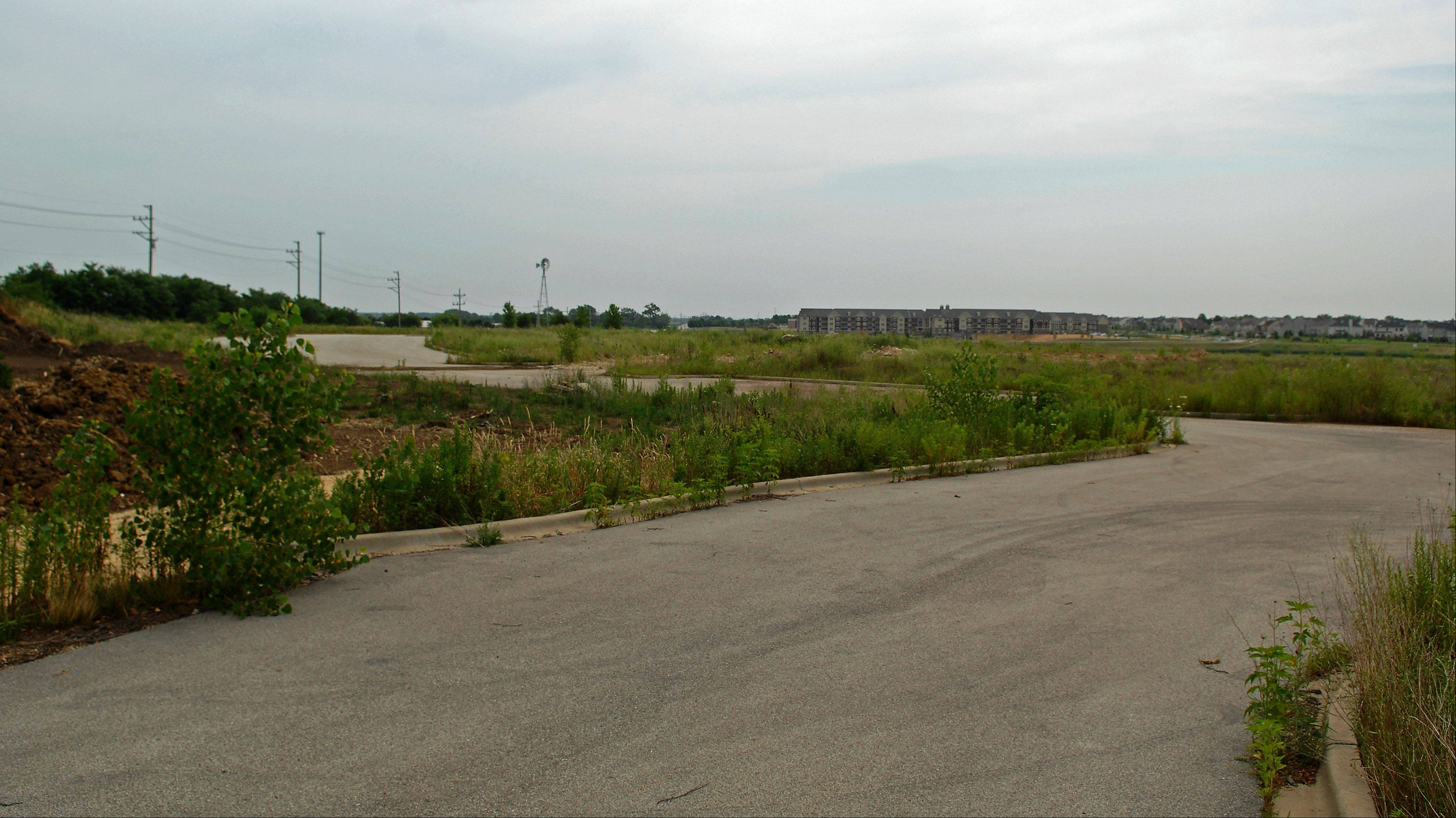 There is a plan by Shodeen to turn what was intended to be 210,000 square feet of commercial property into 268 apartments on this land in Mill Creek in Geneva.