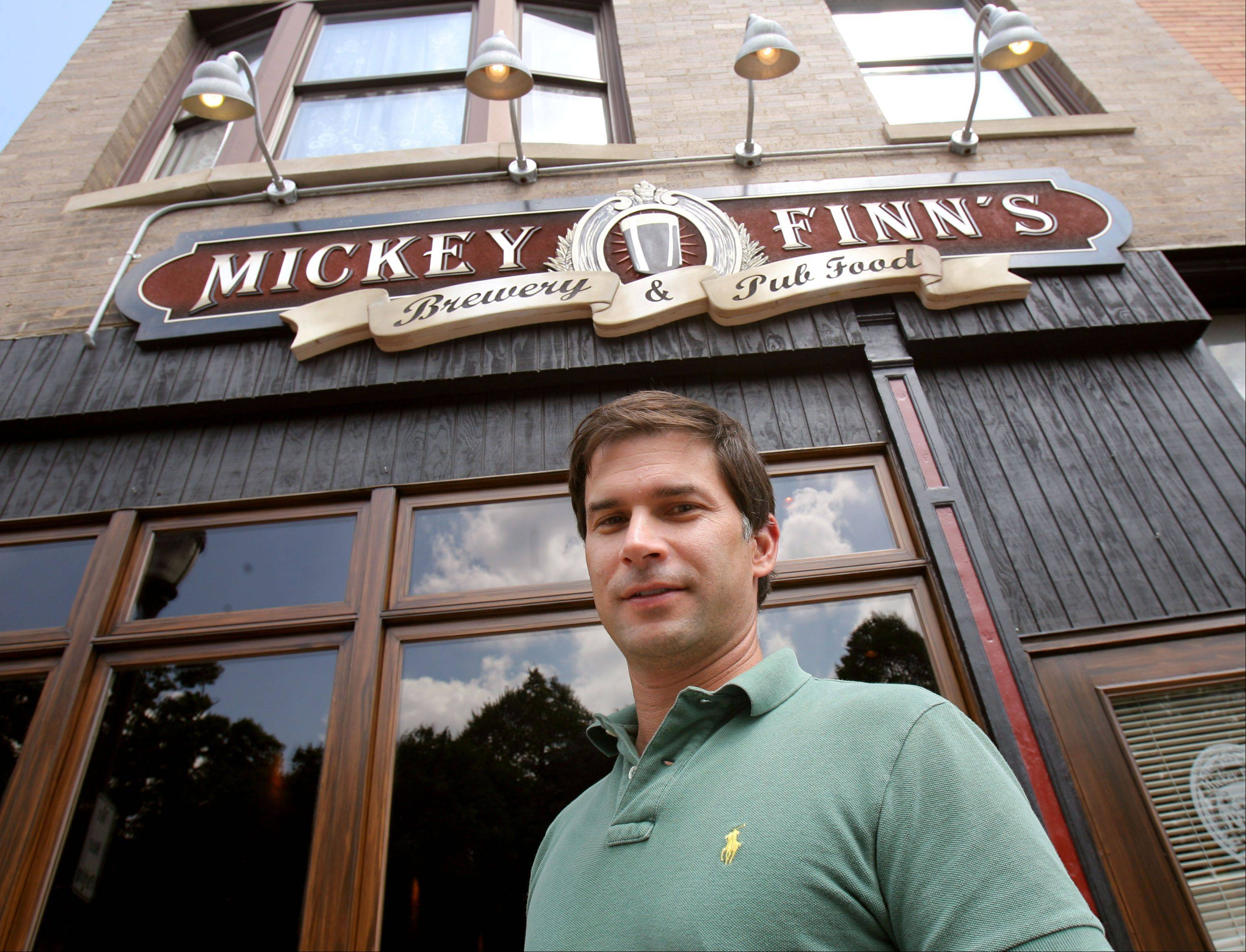With Thanksgiving Eve being one of the busiest bar nights of the year, owner Brian Grano is bringing in extra servers and barkeepers to handle the Wednesday night crowd at Mickey Finn's in Libertyville.