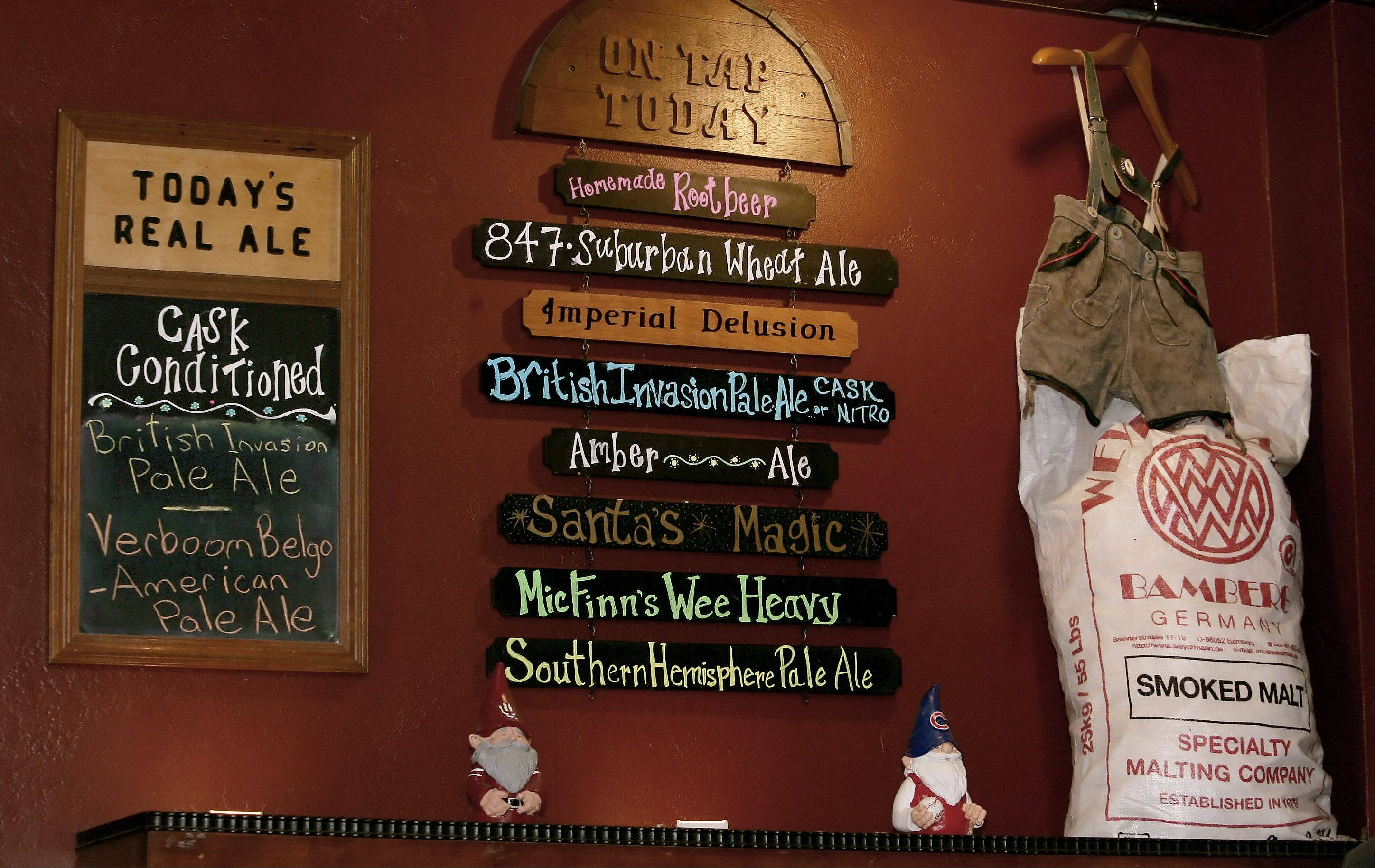 Of all the unusual beers brewed at Mickey Finn's in Libertyville, the most popular is the Santa's Magic beer released on the Friday after Thanksgiving.