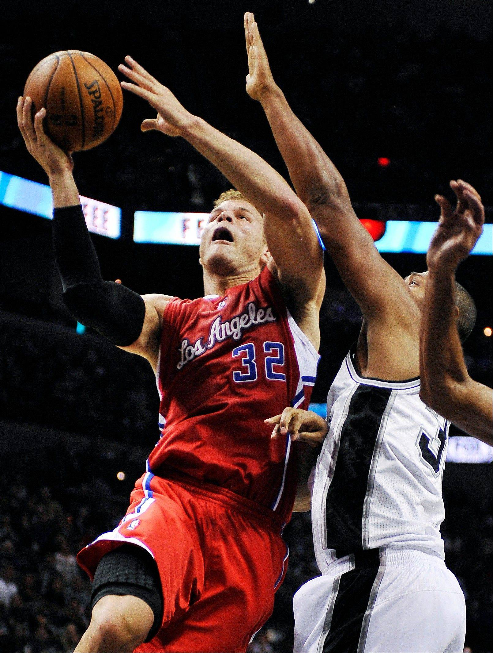 Blake Griffin and the Los Angeles Clippers are Mike McGraw's top team in the NBA so far this season.