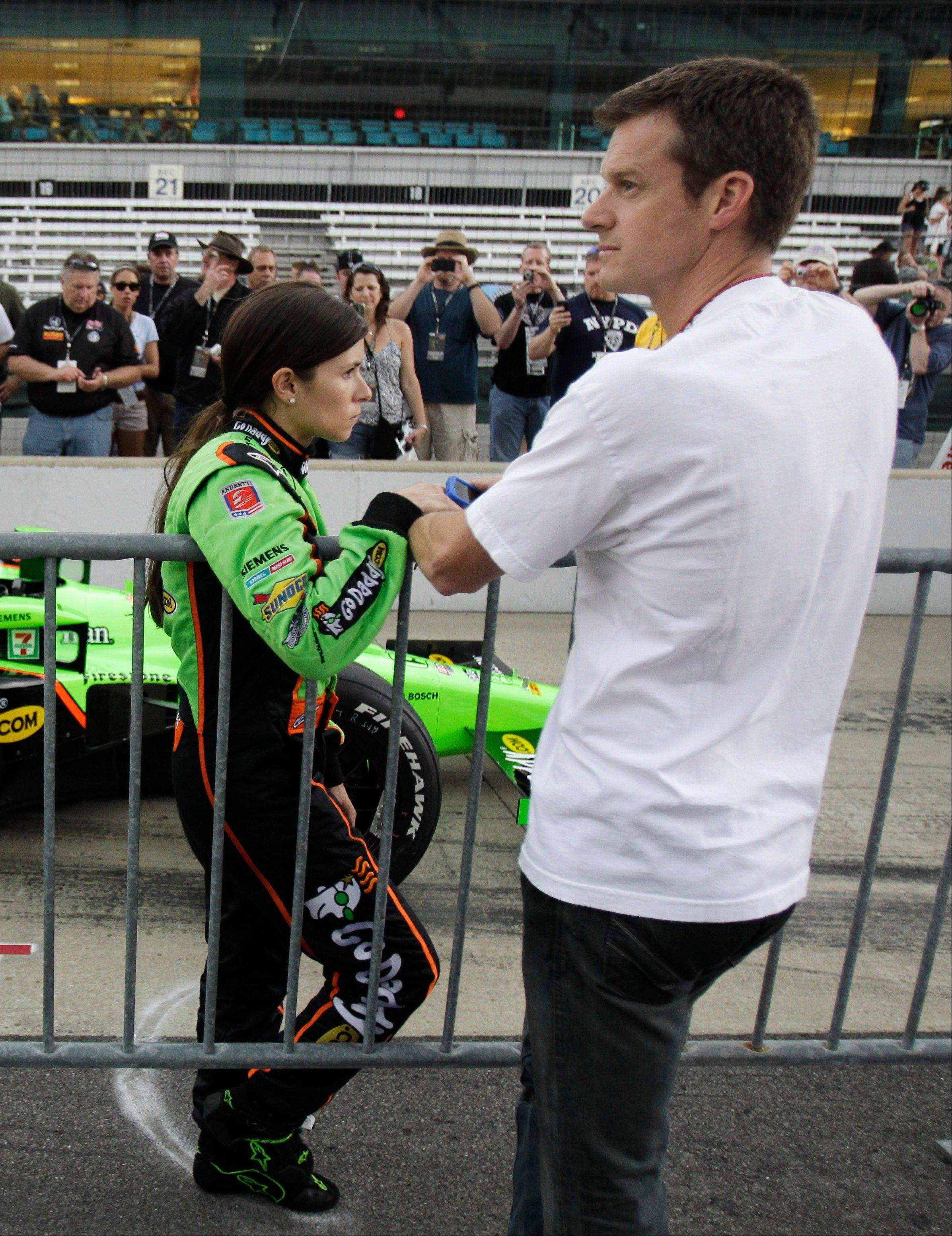 Danica Patrick announced Tuesday on her Facebook page that she and her husband, Paul Hospenthal, are divorcing after seven years of marriage.