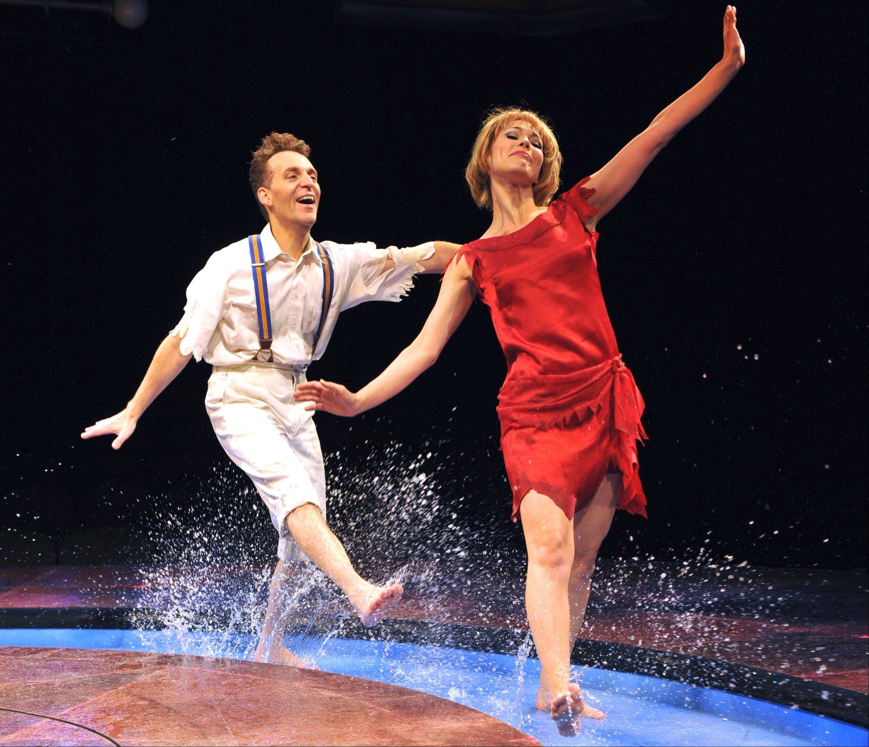 "The appealing duo Andrew Lupp and Summer Naomi Smart deliver a showstopping performance of ""'S Wonderful,"" in director/choreographer Tammy Mader's buoyant revival of ""My One and Only"" for Marriott Theatre."