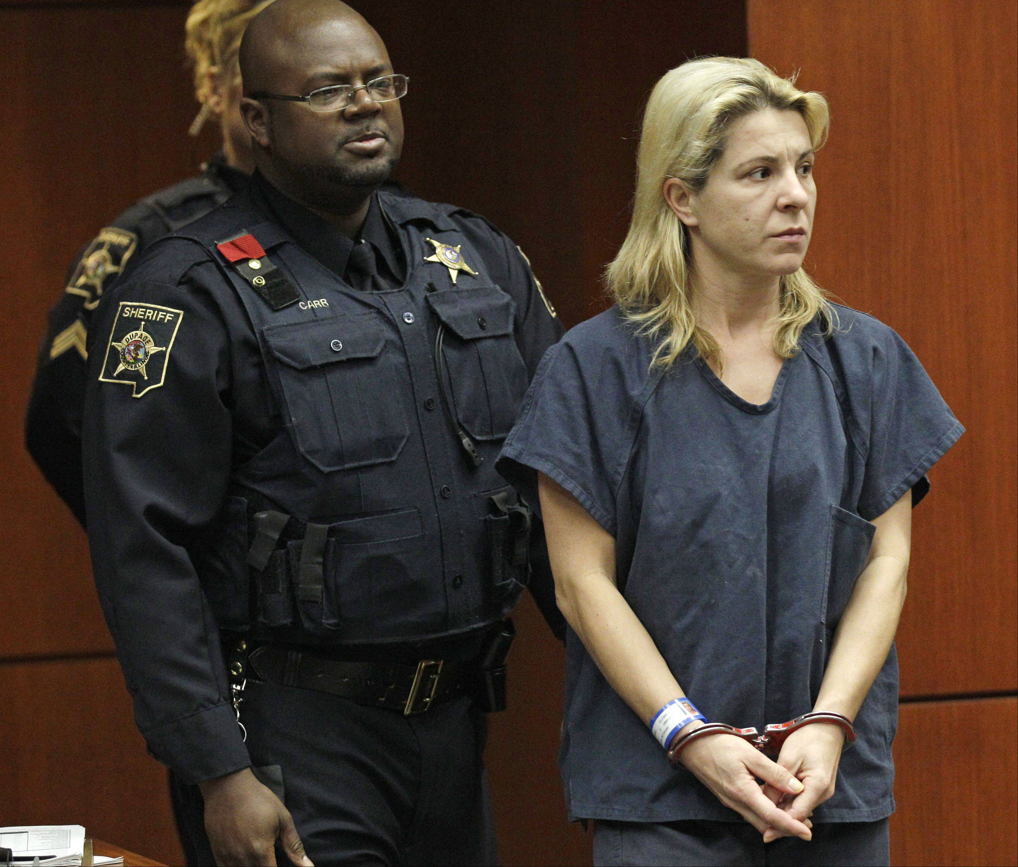 As cameras roll, Naperville mom pleads innocent