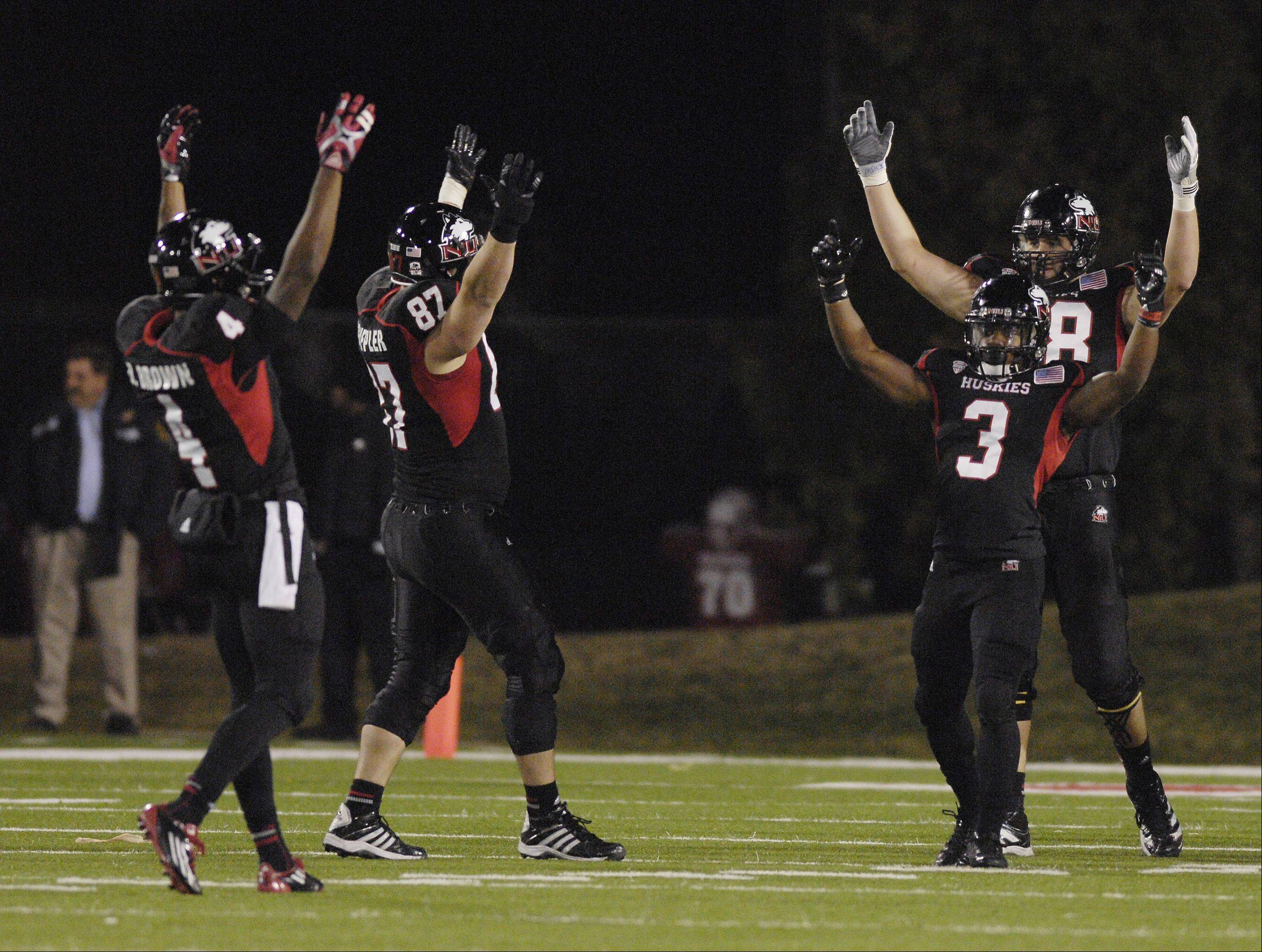 Northern Illinois University had a lot to celebrate after last week's win over the Toledo Rockets in DeKalb clinched a berth in the MAC championship game. Now they have to focus on now having a letdown against Eastern Michigan on Friday.