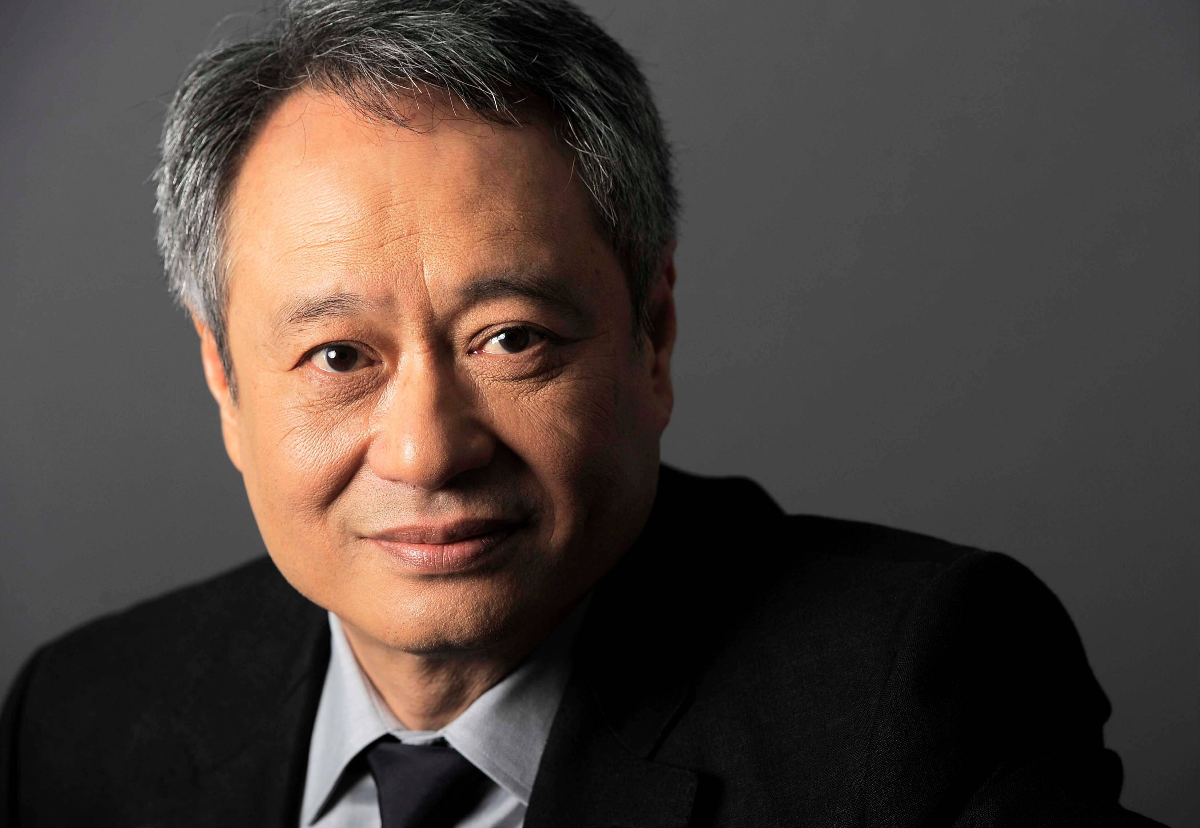 Ang Lee poses at CinemaCon 2012, the official convention of the National Association of Theater Owners in Las Vegas.
