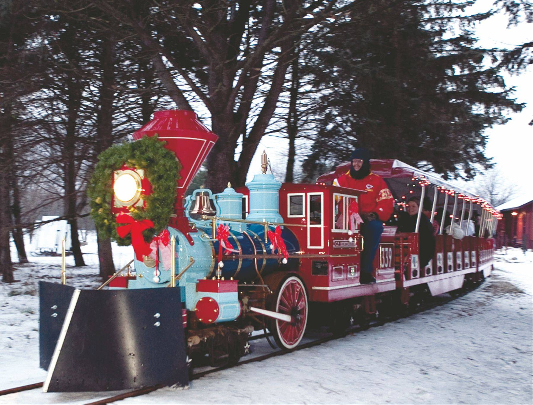 It's full speed ahead with holiday cheer when the Polar Express train makes its rounds during the first two December weekends at Blackberry Farm.