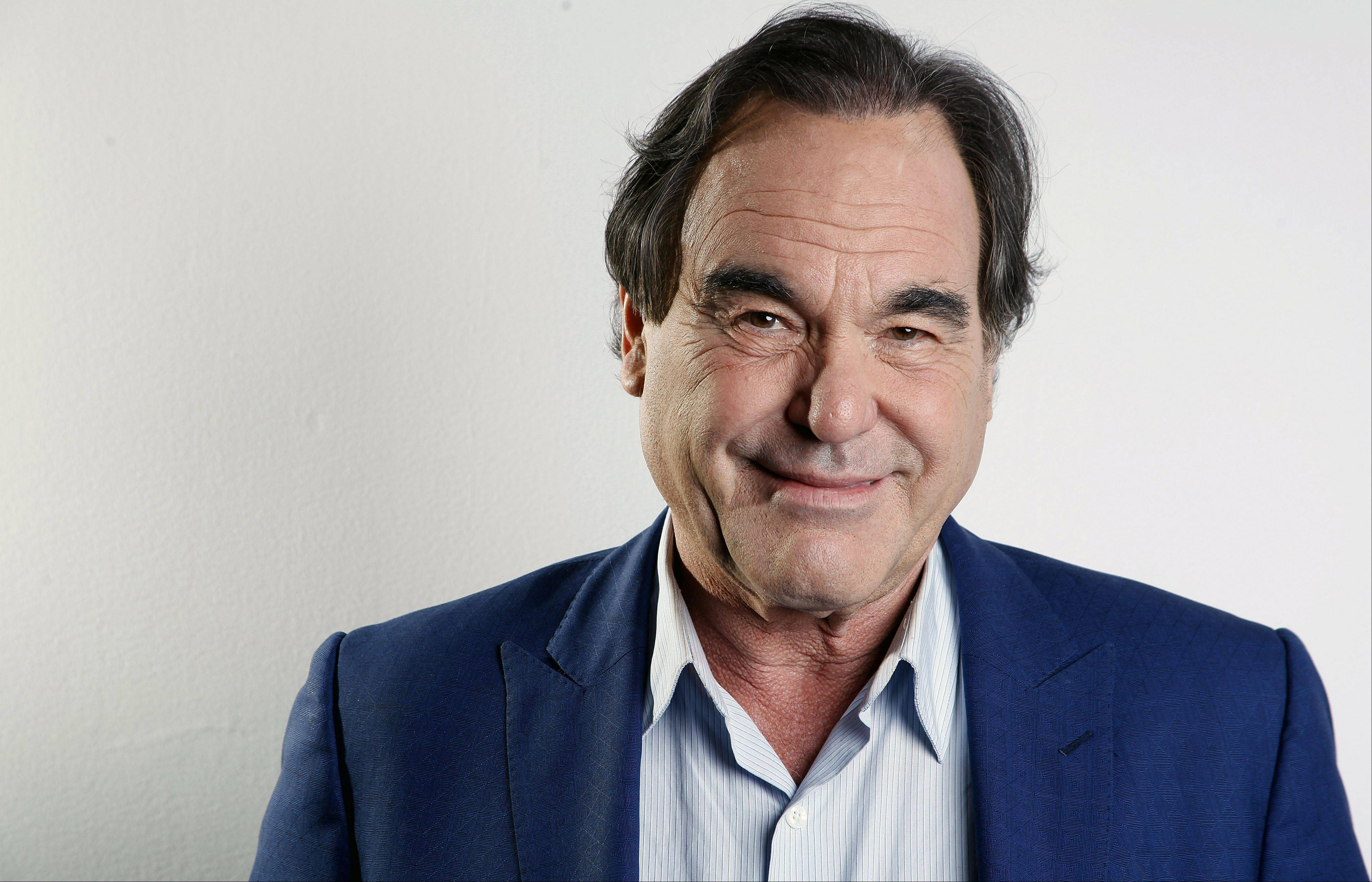 "American film director, screenwriter and producer Oliver Stone has never been shy about ruffling feathers with his take on real-life events. His latest project, ""The Untold History of the United States,"" currently running on Showtime, explores the facts he feels were suppressed."
