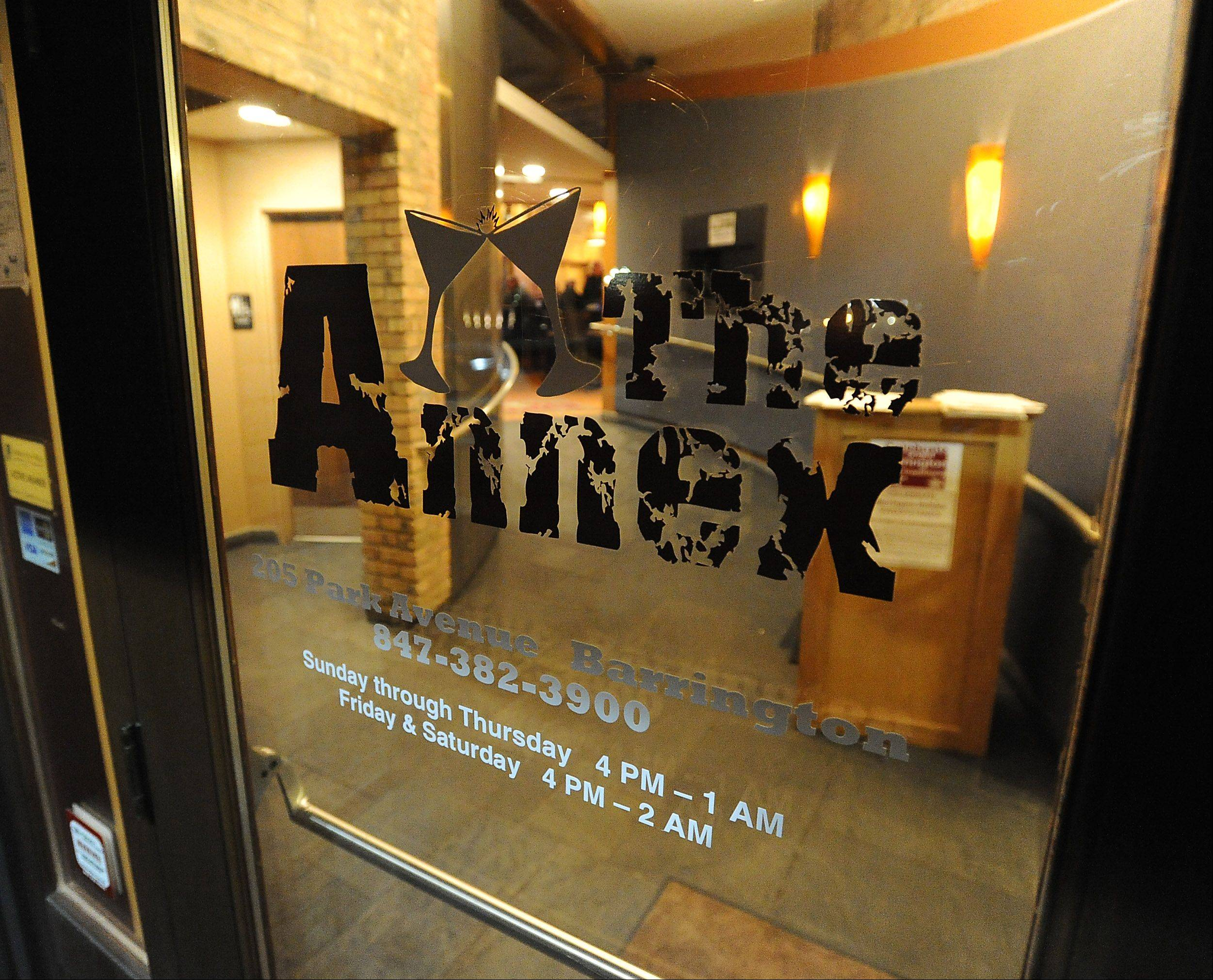The Annex opened in the space formerly occupied by the Park Avenue Wine Bar.