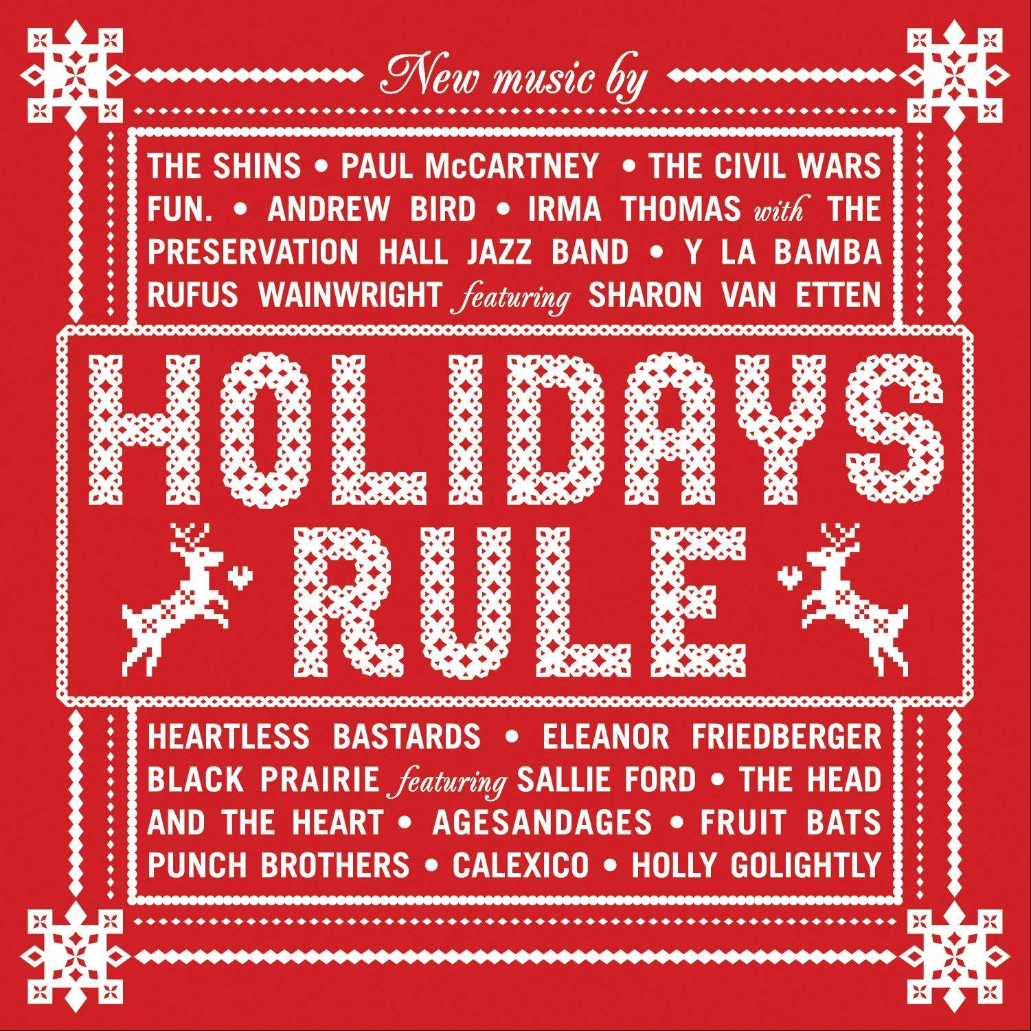 """Holidays Rule,"" a collection of holiday songs by various artists"