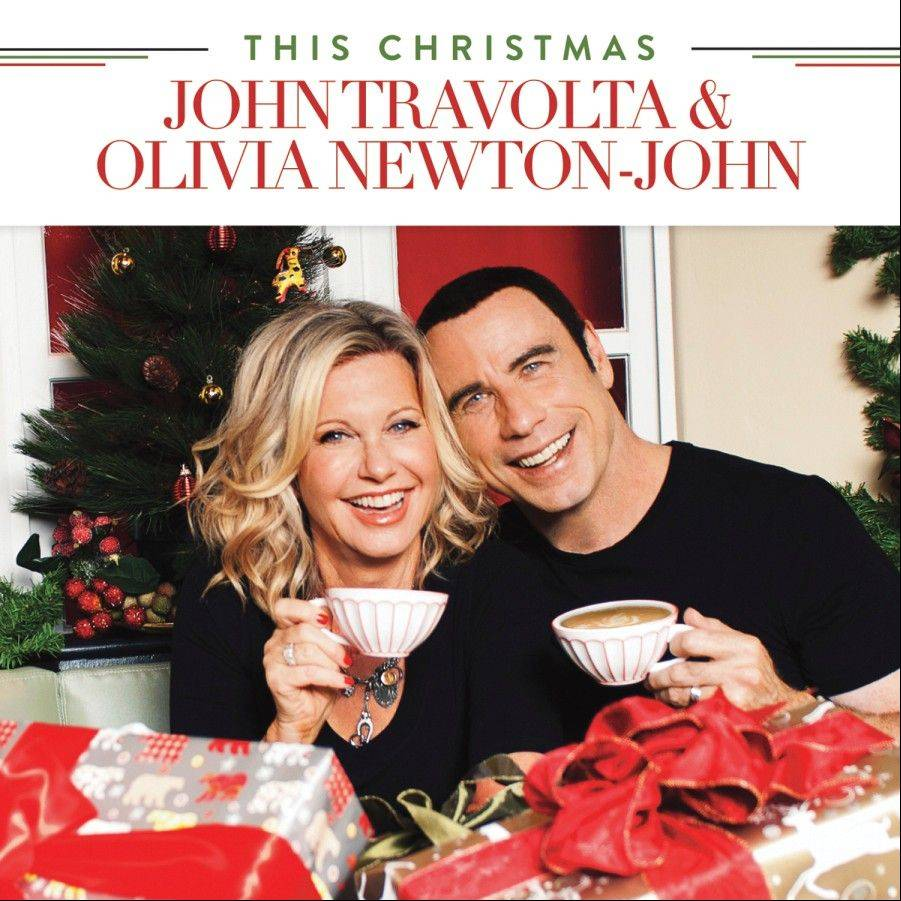 """This Christmas,"" a holiday album with John Travolta and Olivia Newton-John"