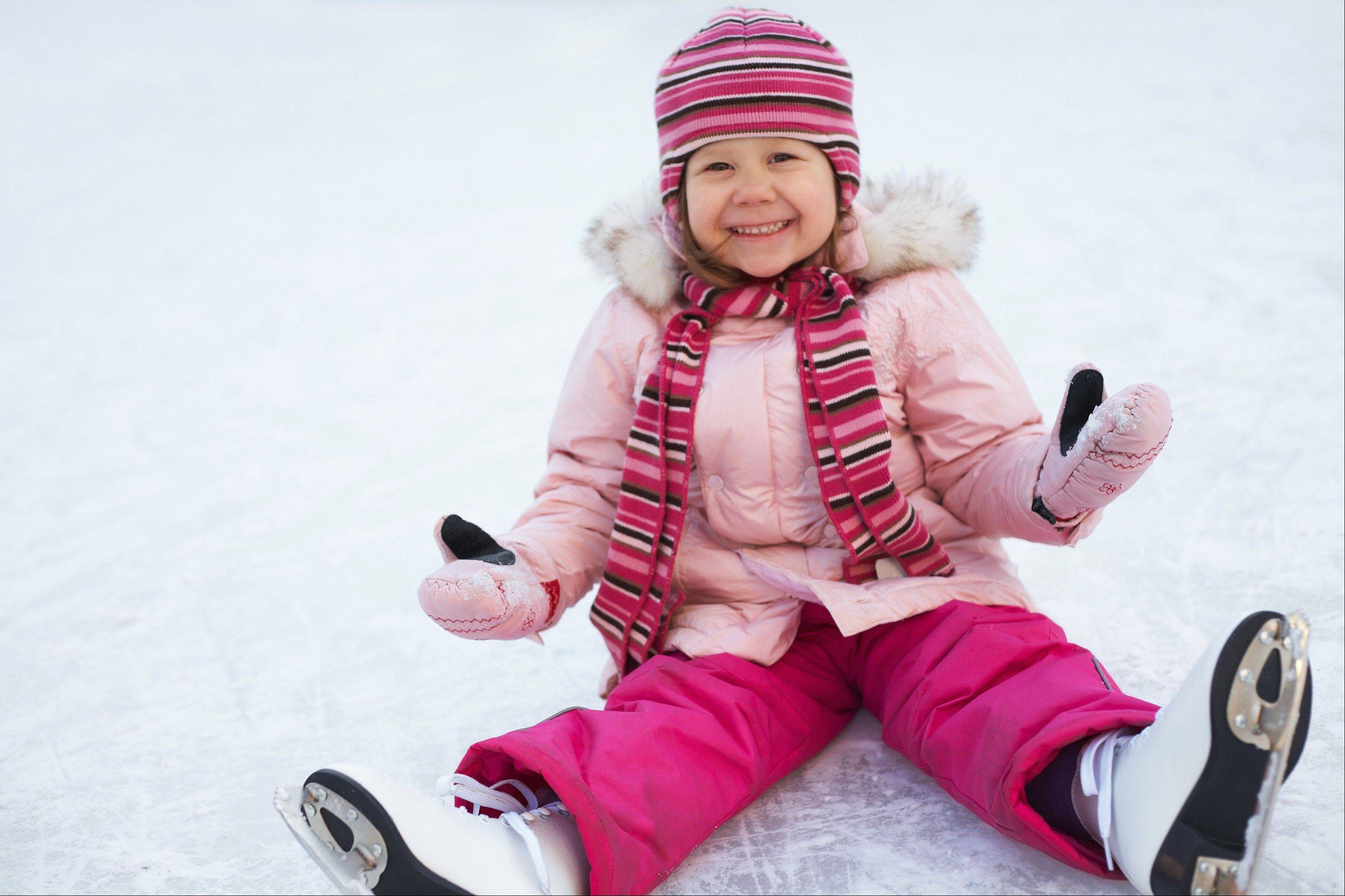 Skaters of all ages and abilities are invited to take a turn on the ice at area ice rinks this season.