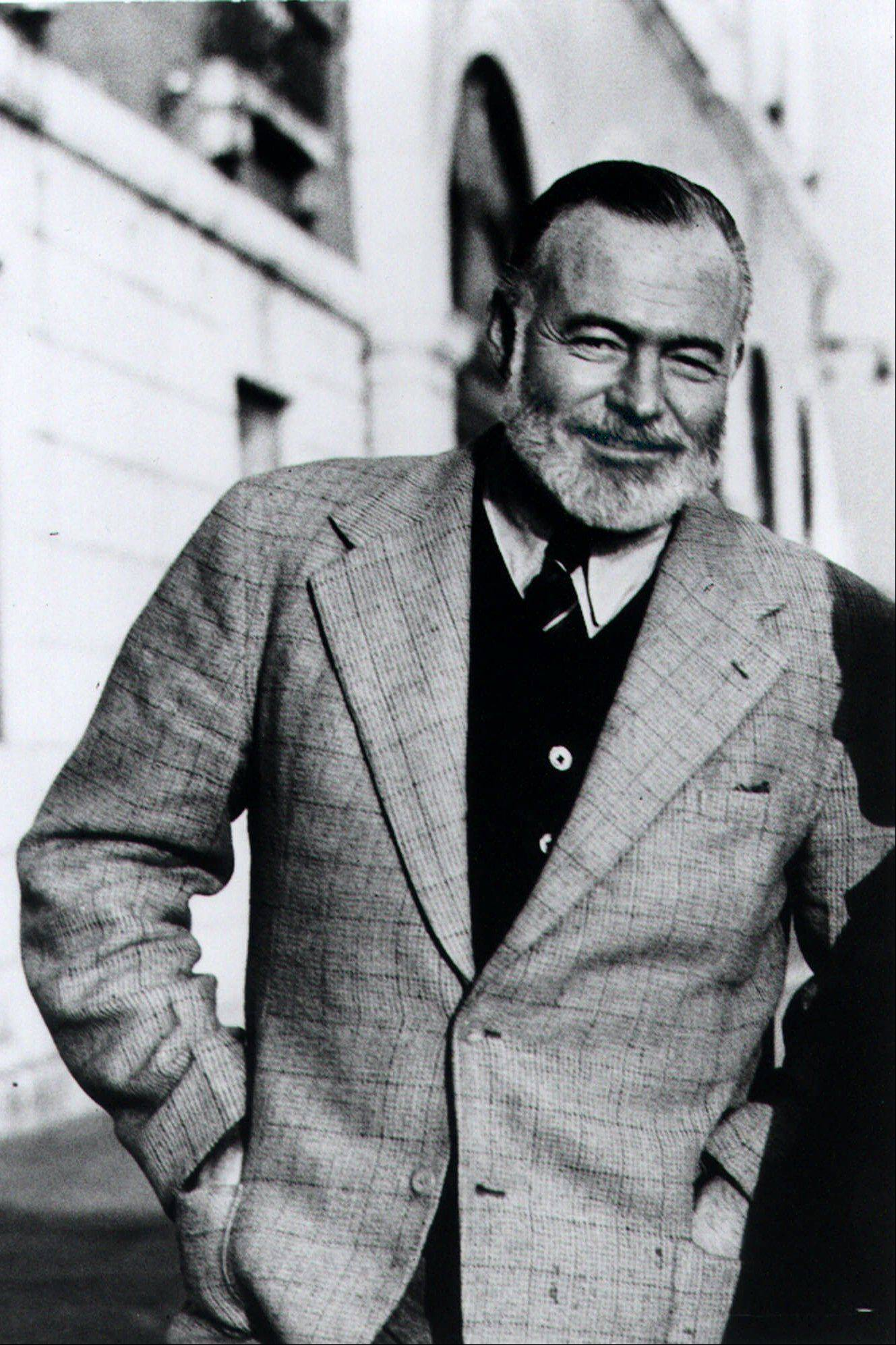 Ernest Hemingway filled his books with detailed descriptions of drinks downed by his characters.